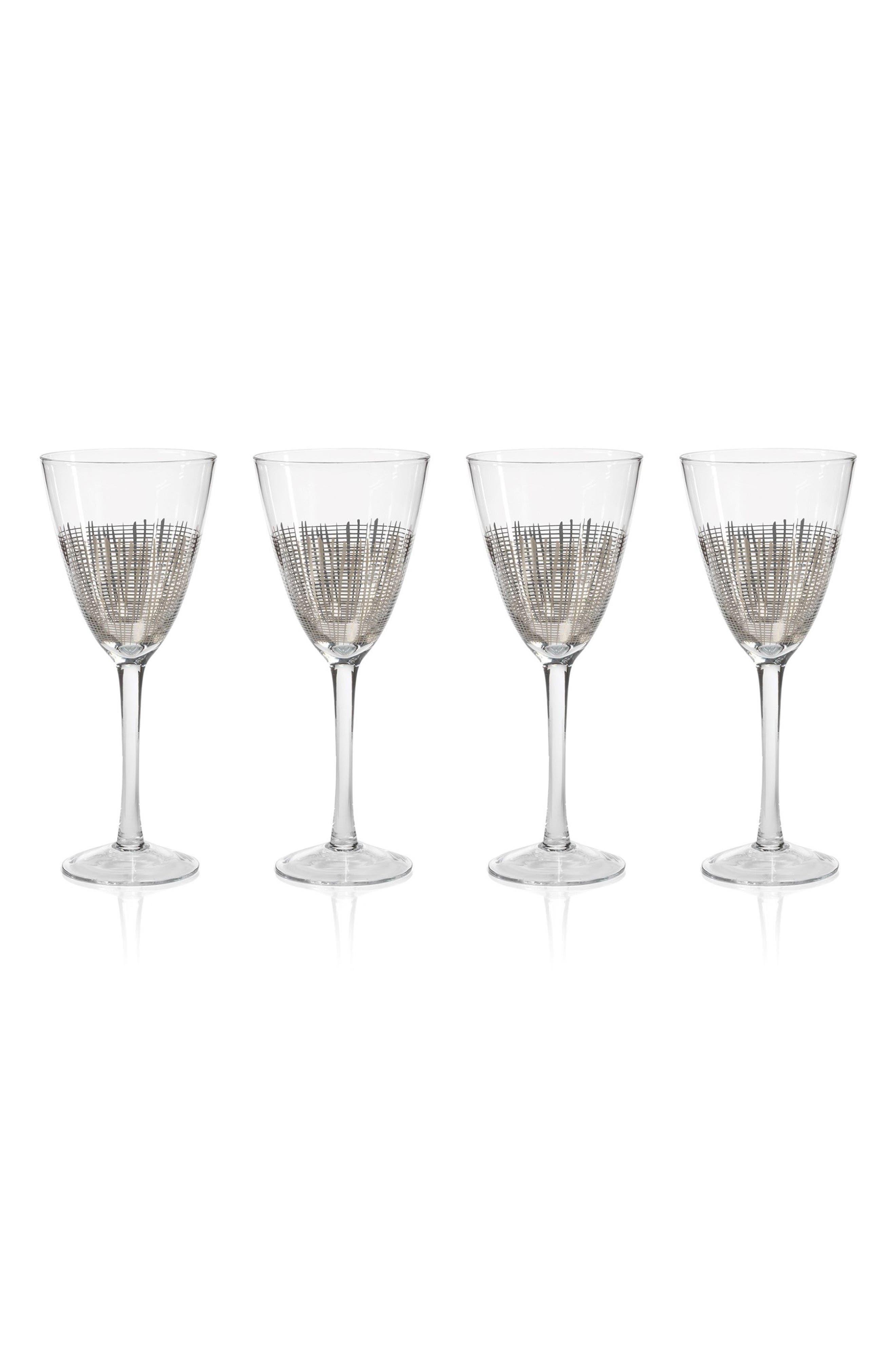 Main Image - Zodax Reza Set of 4 Wine Glasses