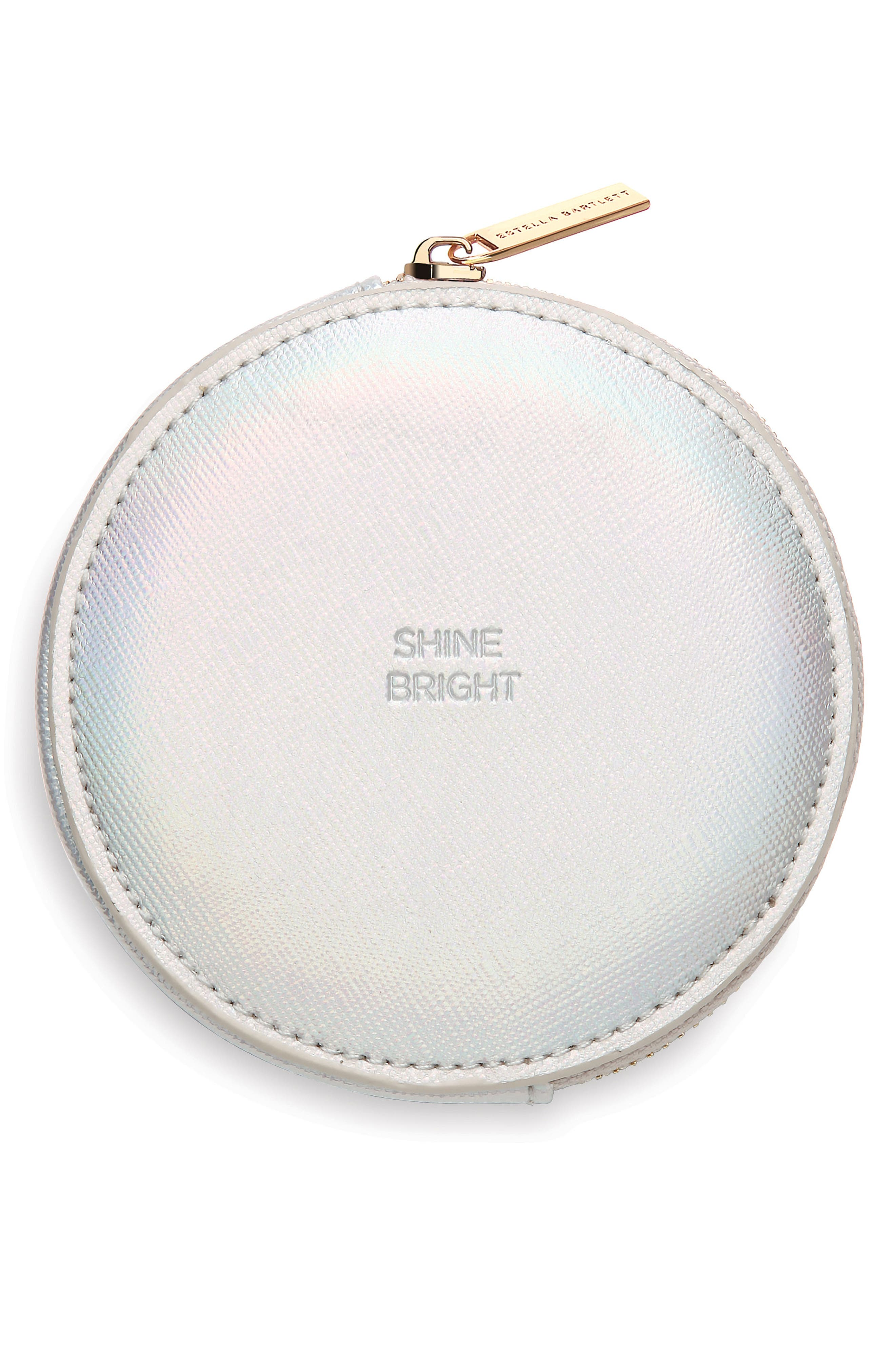 Alternate Image 1 Selected - Estella Bartlett Shine Bright Faux Leather Pouch