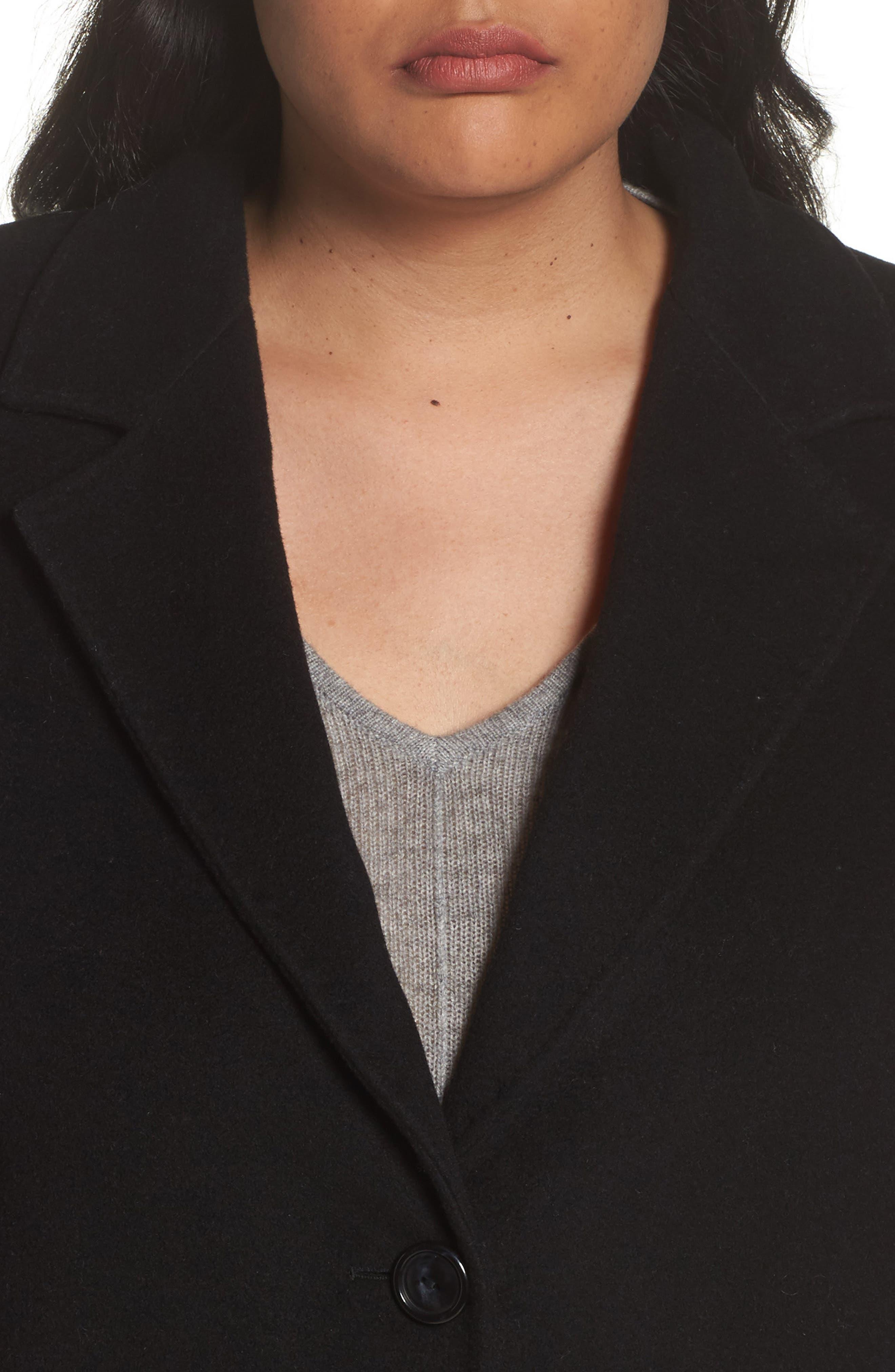 Tamigi Coat,                             Alternate thumbnail 4, color,                             Black