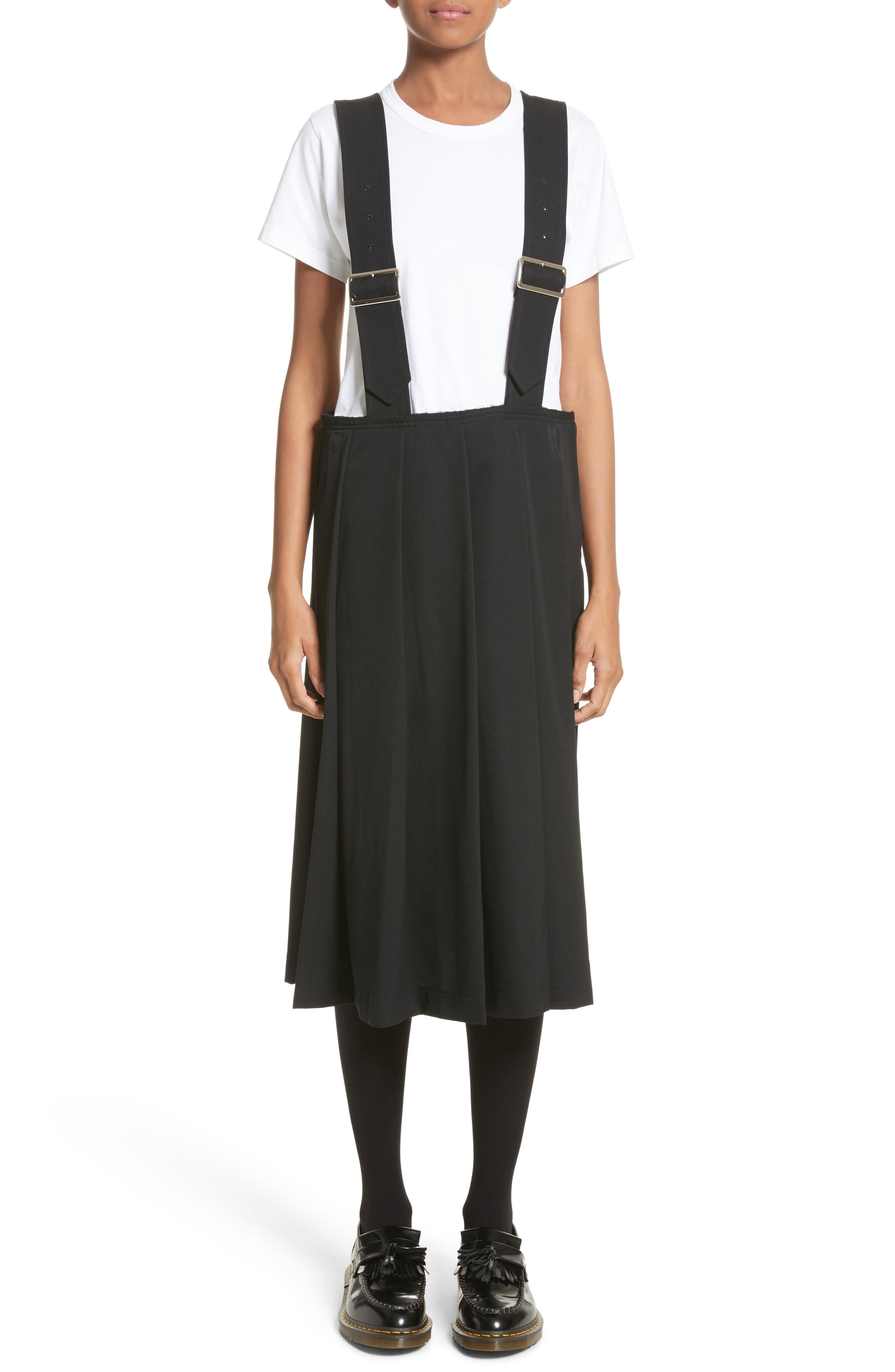 Comme des Garçons Overall Skirt
