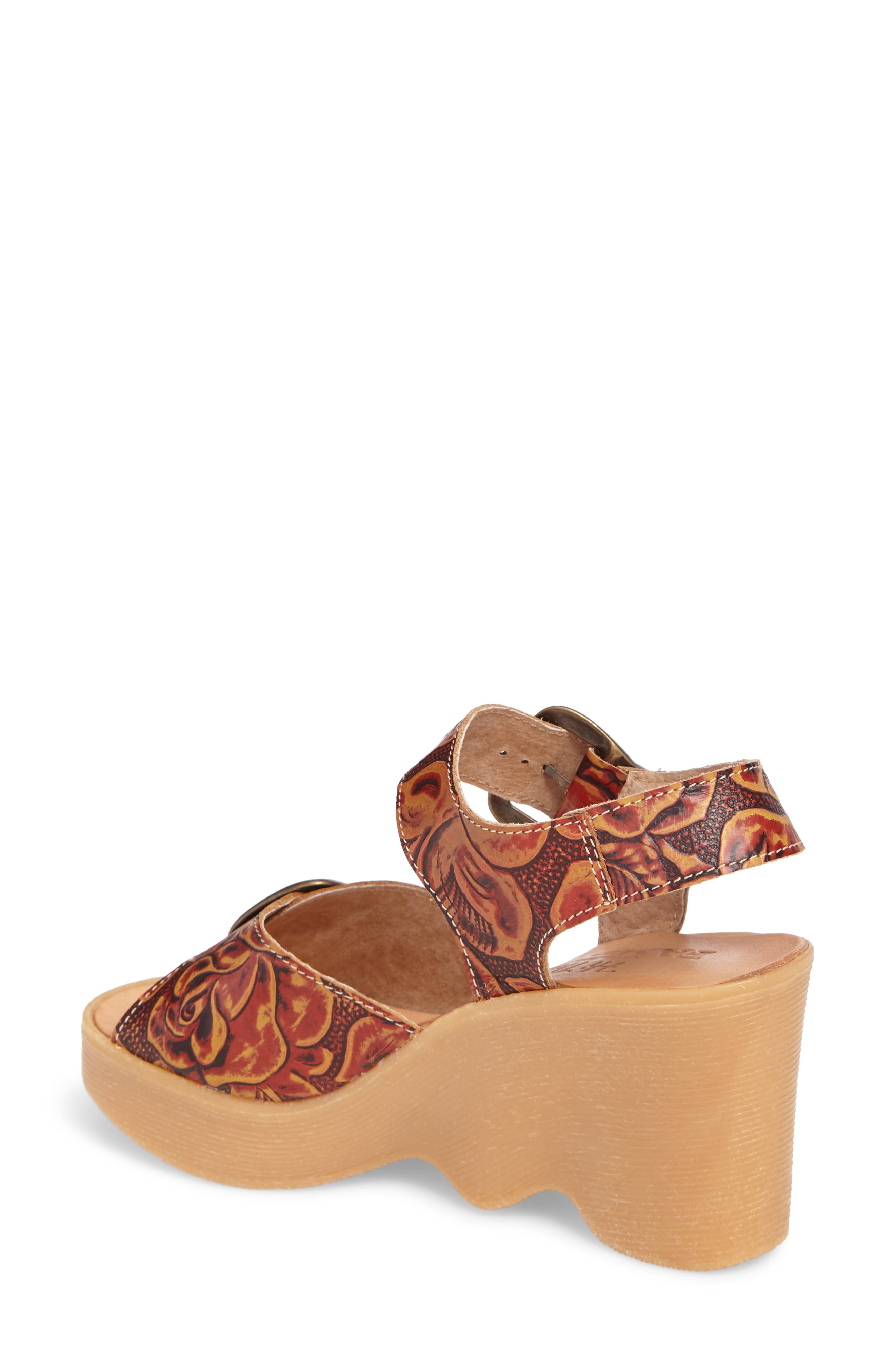Alternate Image 2  - Famolare Double Vision Wedge Sandal (Women)
