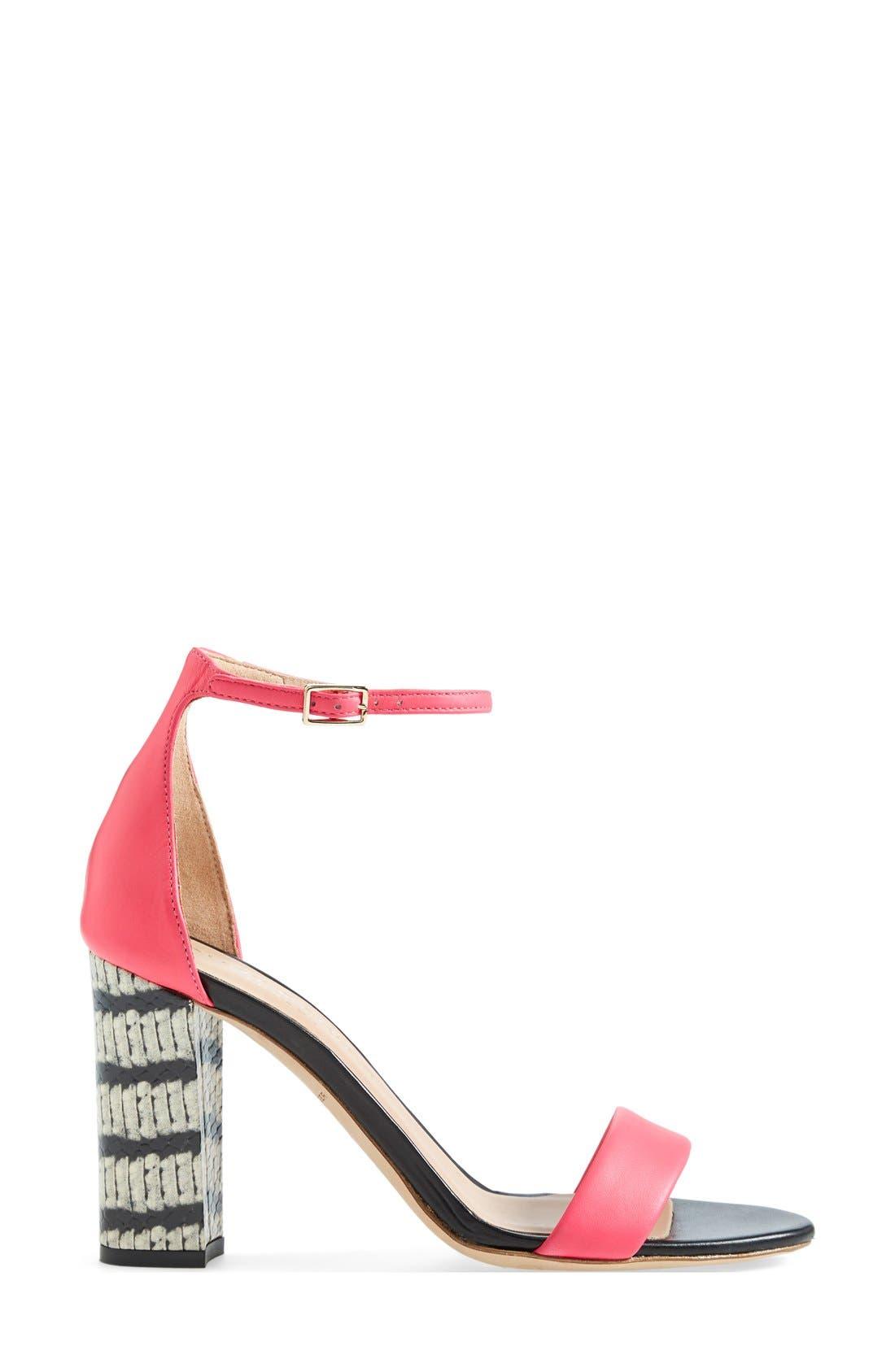 Alternate Image 4  - Kurt Geiger London 'Isabella' Ankle Strap Sandal (Women)