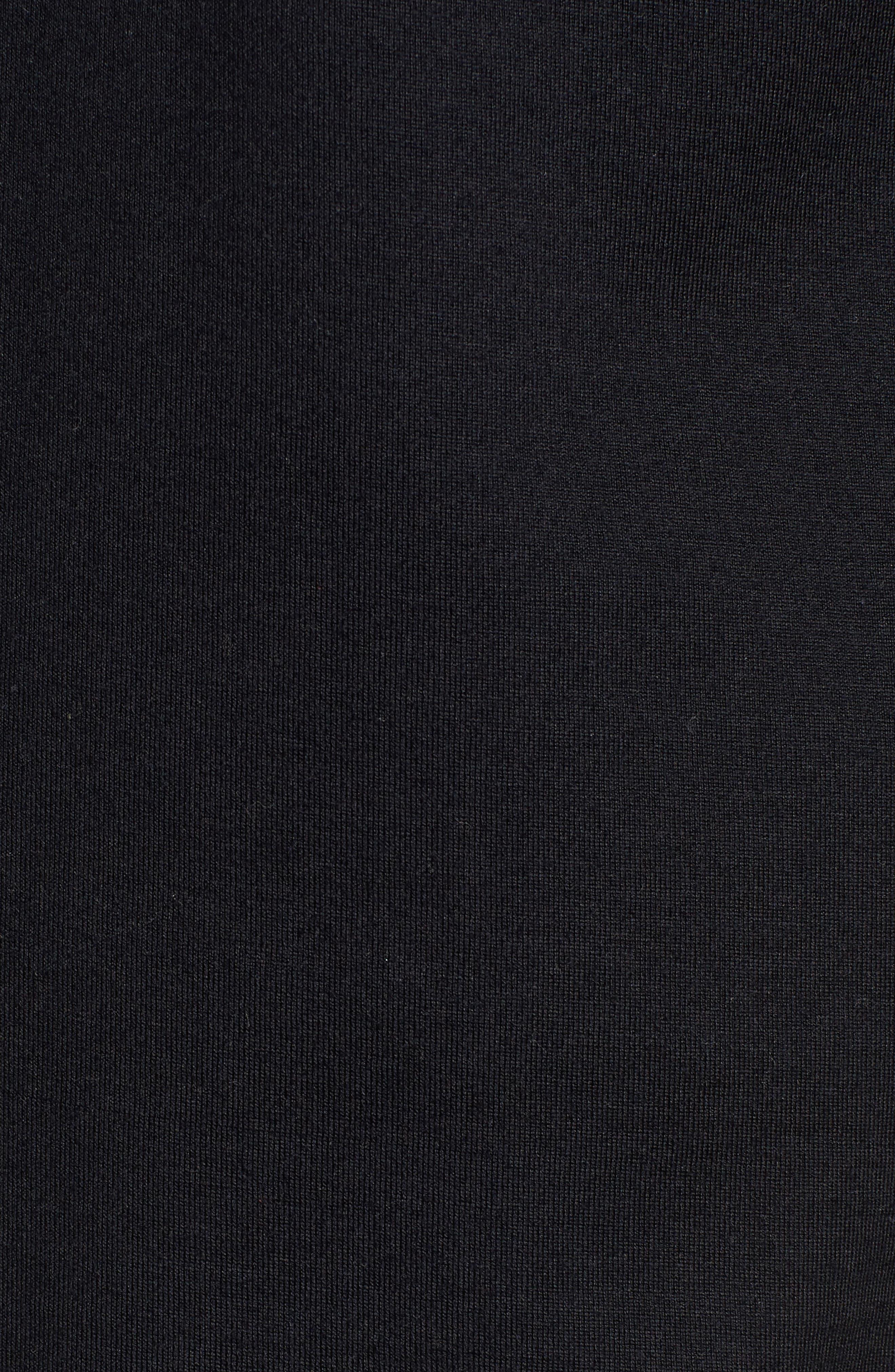 Tiburt Colorblock T-Shirt,                             Alternate thumbnail 5, color,                             Black