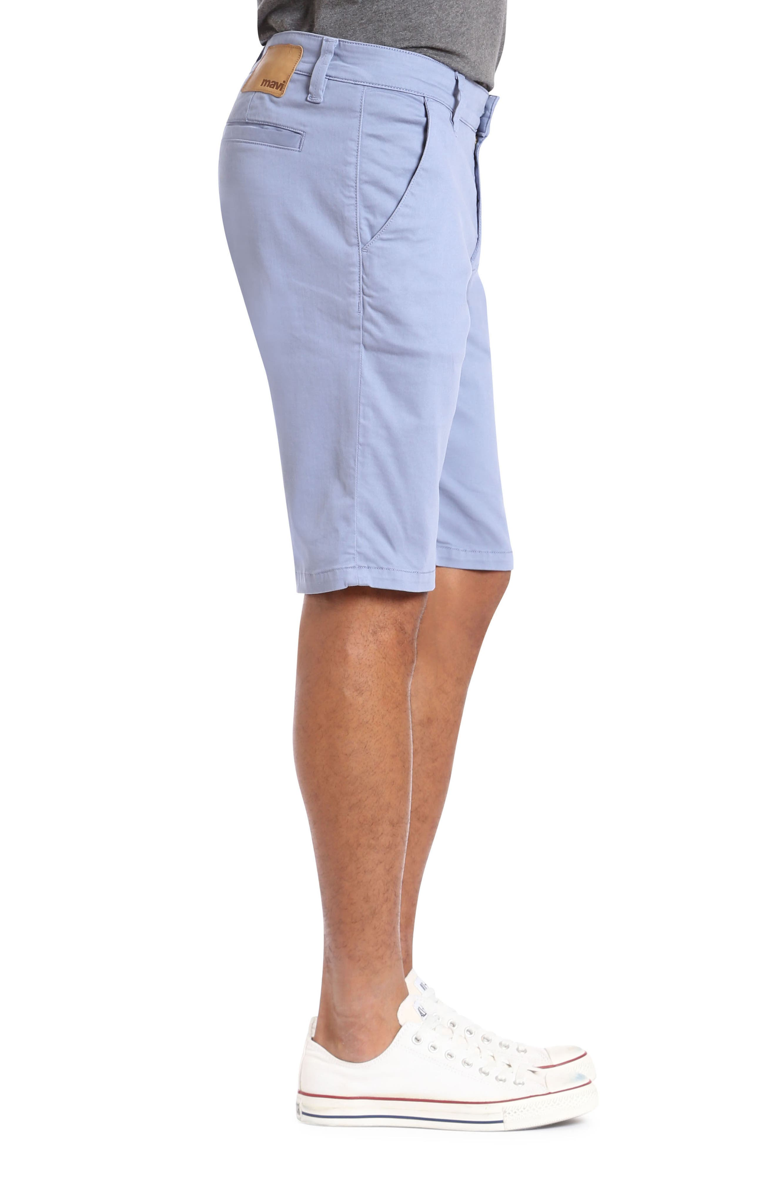 Jacob Twill Shorts,                             Alternate thumbnail 3, color,                             Stone Washed Twill