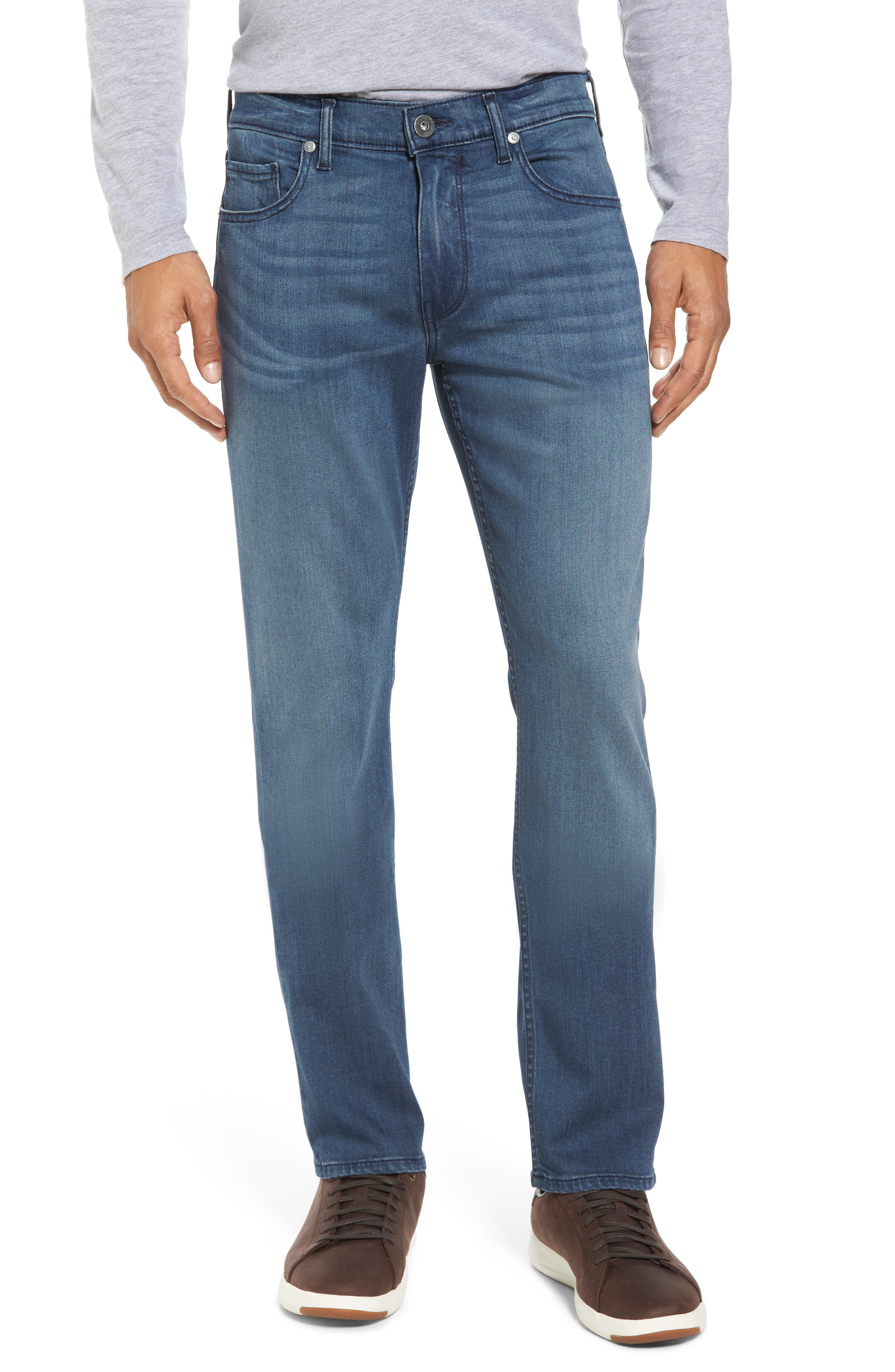 Main Image - PAIGE Transcend - Federal Slim Straight Fit Jeans (Skyler)