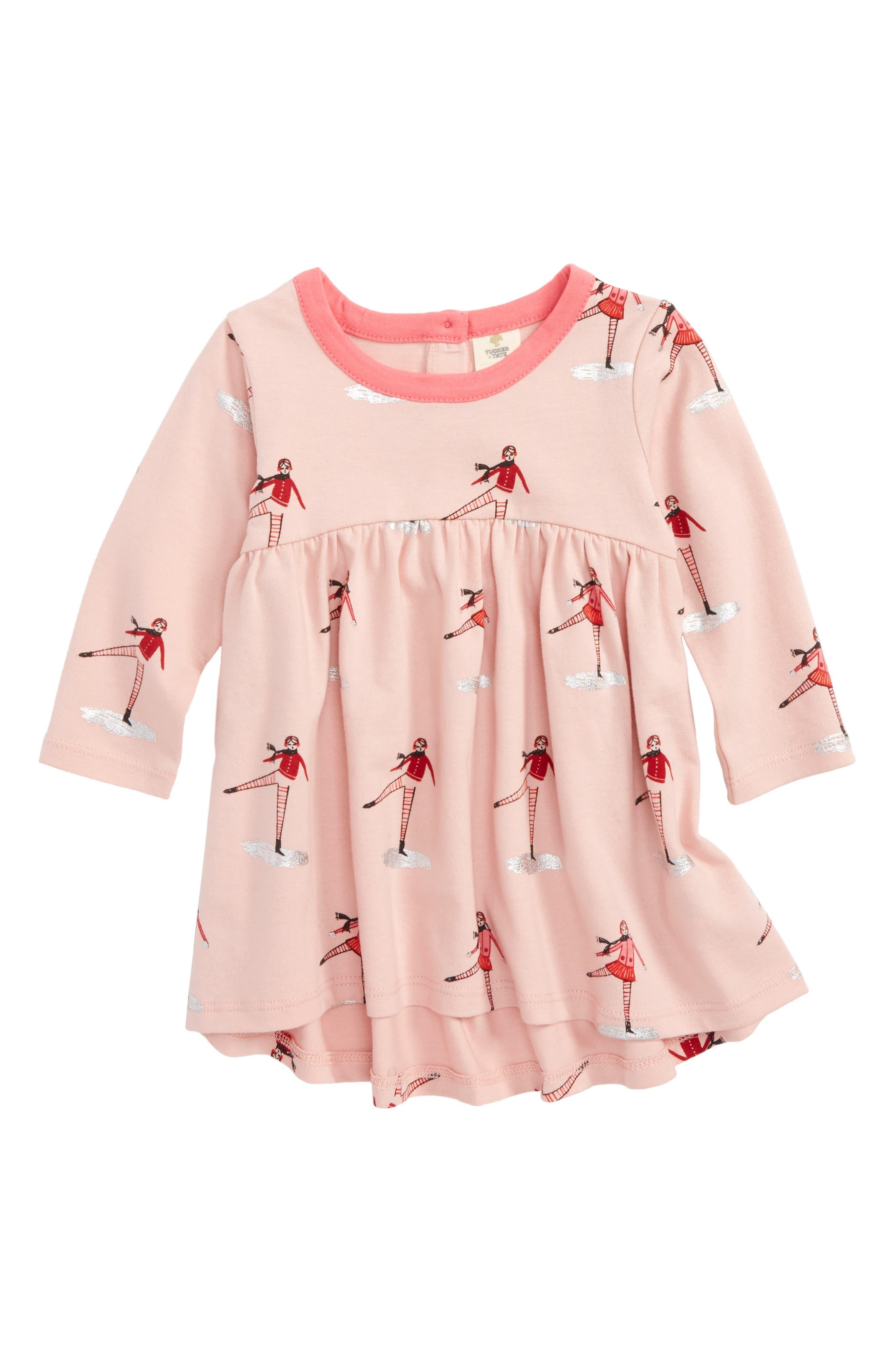 Main Image - Tucker + Tate High/Low Dress (Baby Girls)