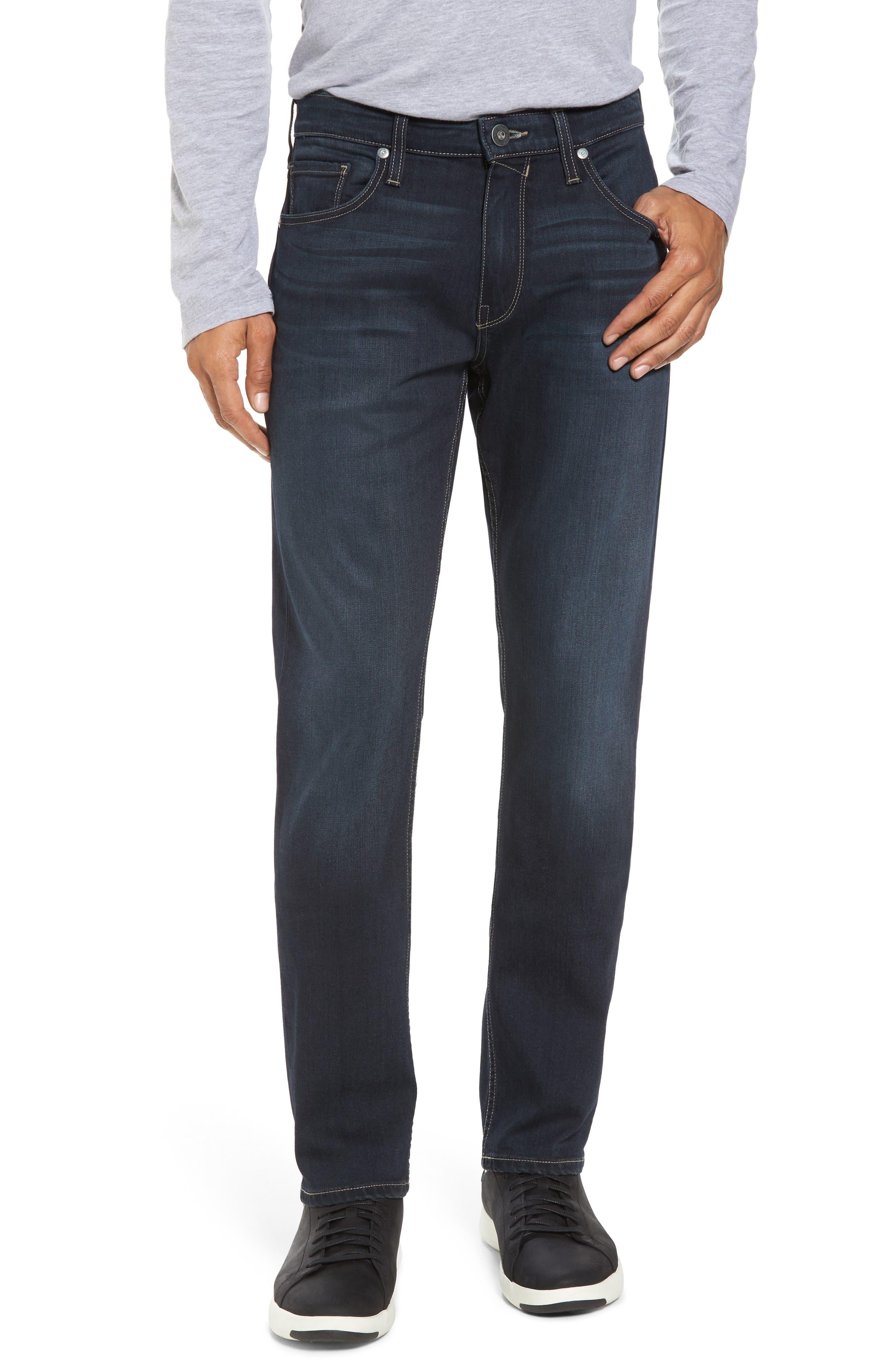 Alternate Image 1 Selected - PAIGE Transcend - Federal Slim Straight Leg Jeans (Wilkins)