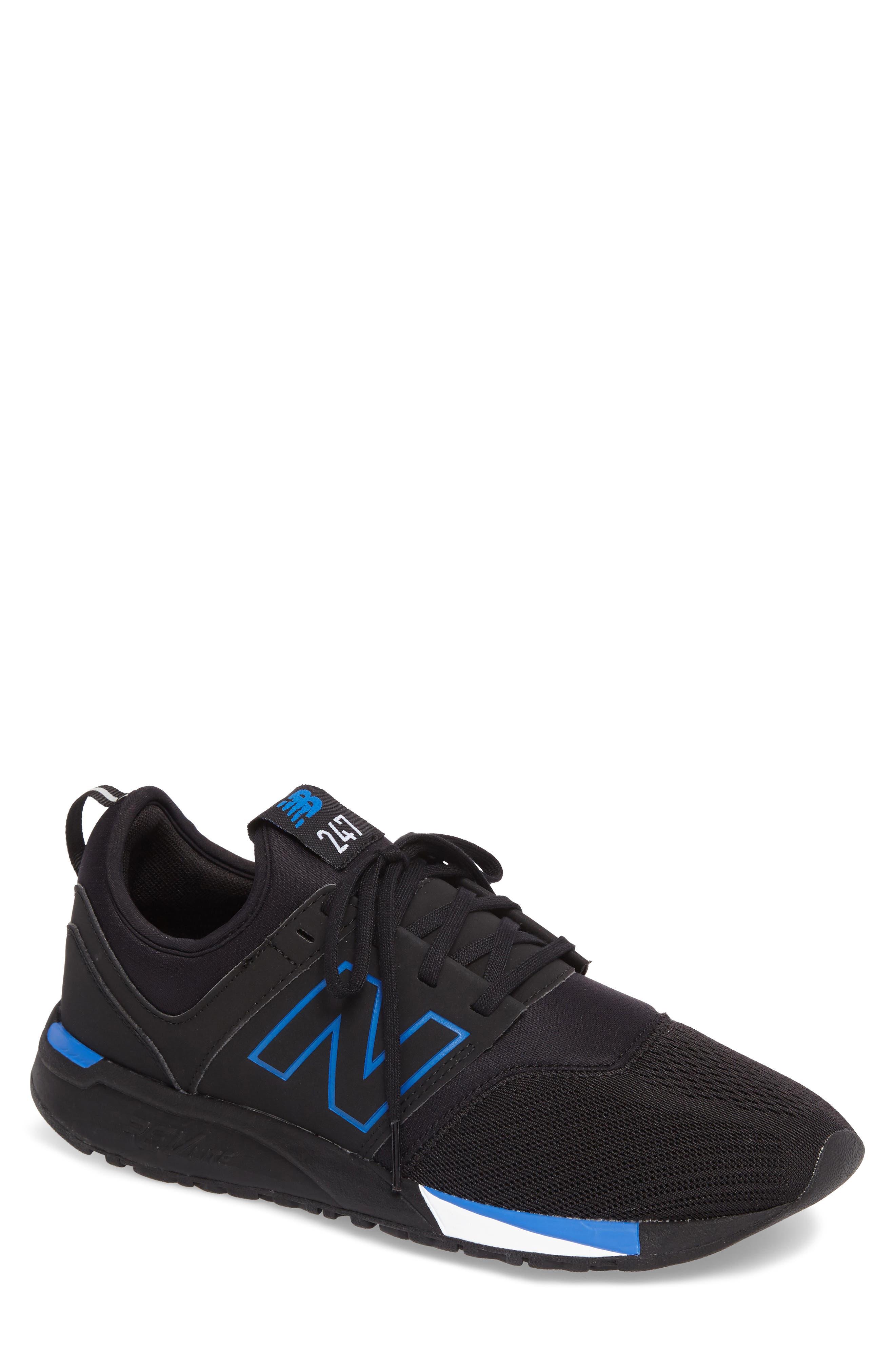 247 Sneaker,                         Main,                         color, Black