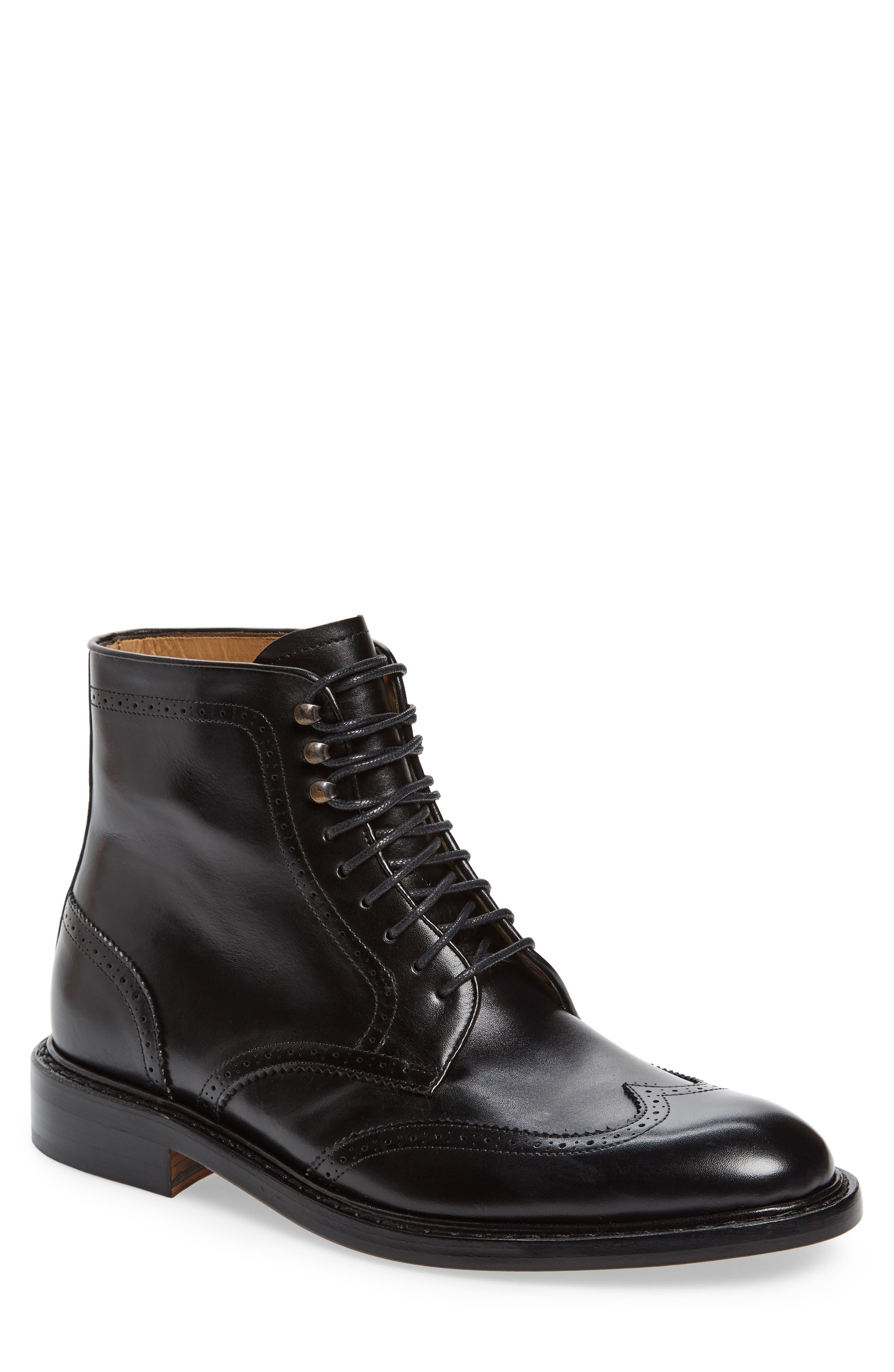 Jack Erwin Carter Wingtip Boot (Men)
