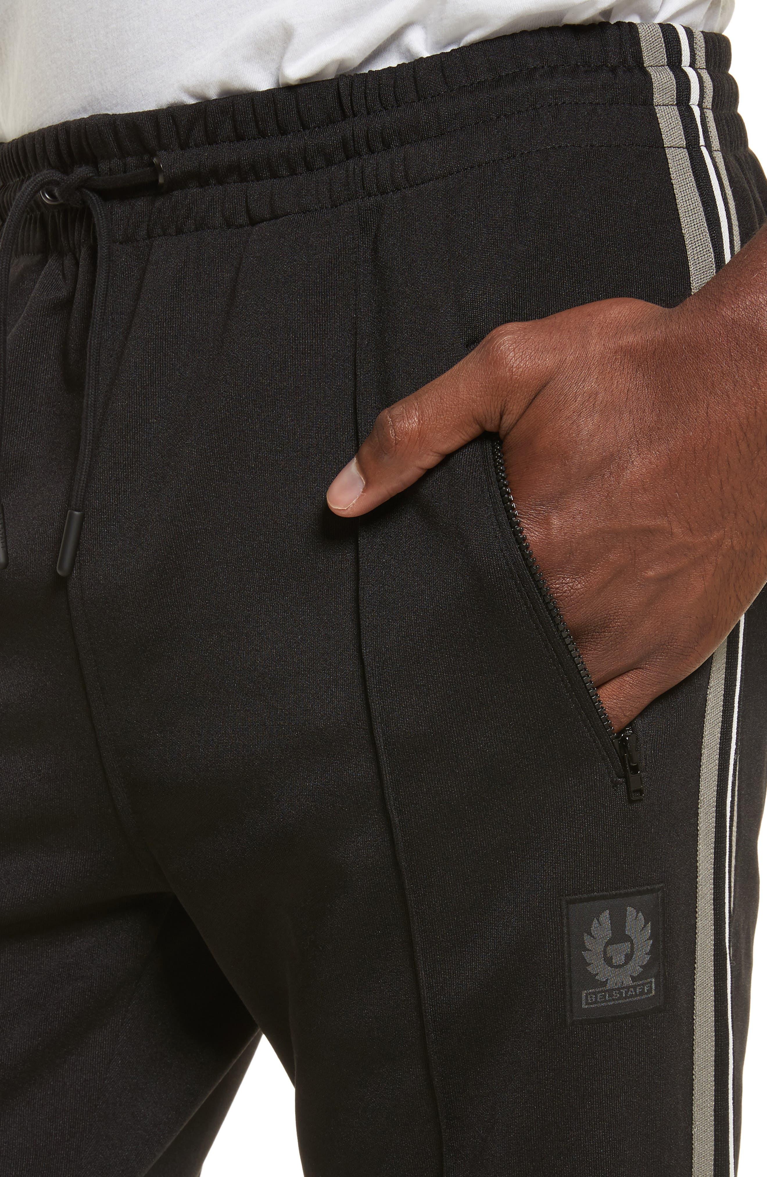 Combrose Track Pants,                             Alternate thumbnail 4, color,                             Black