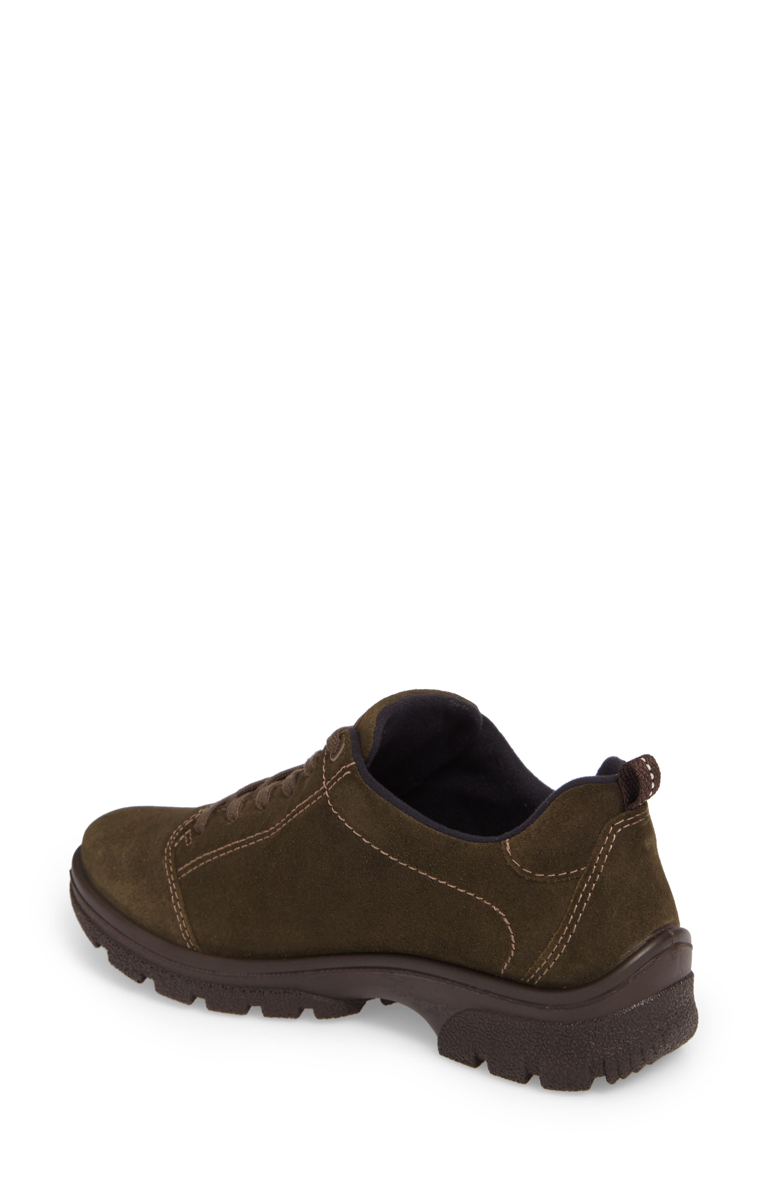 Sophie Gore-Tex<sup>®</sup> Sneaker,                             Alternate thumbnail 2, color,                             Pine Suede