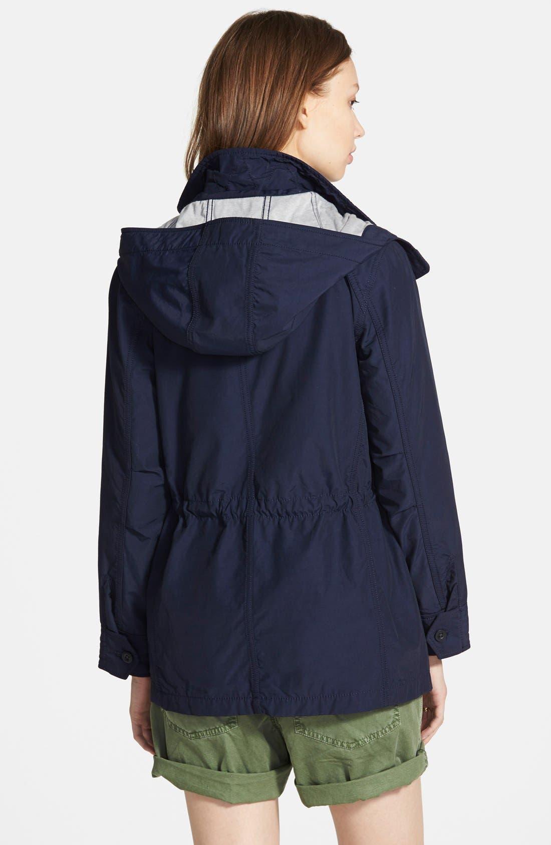 Alternate Image 2  - Madewell 'Fieldwalk' Hooded Jacket