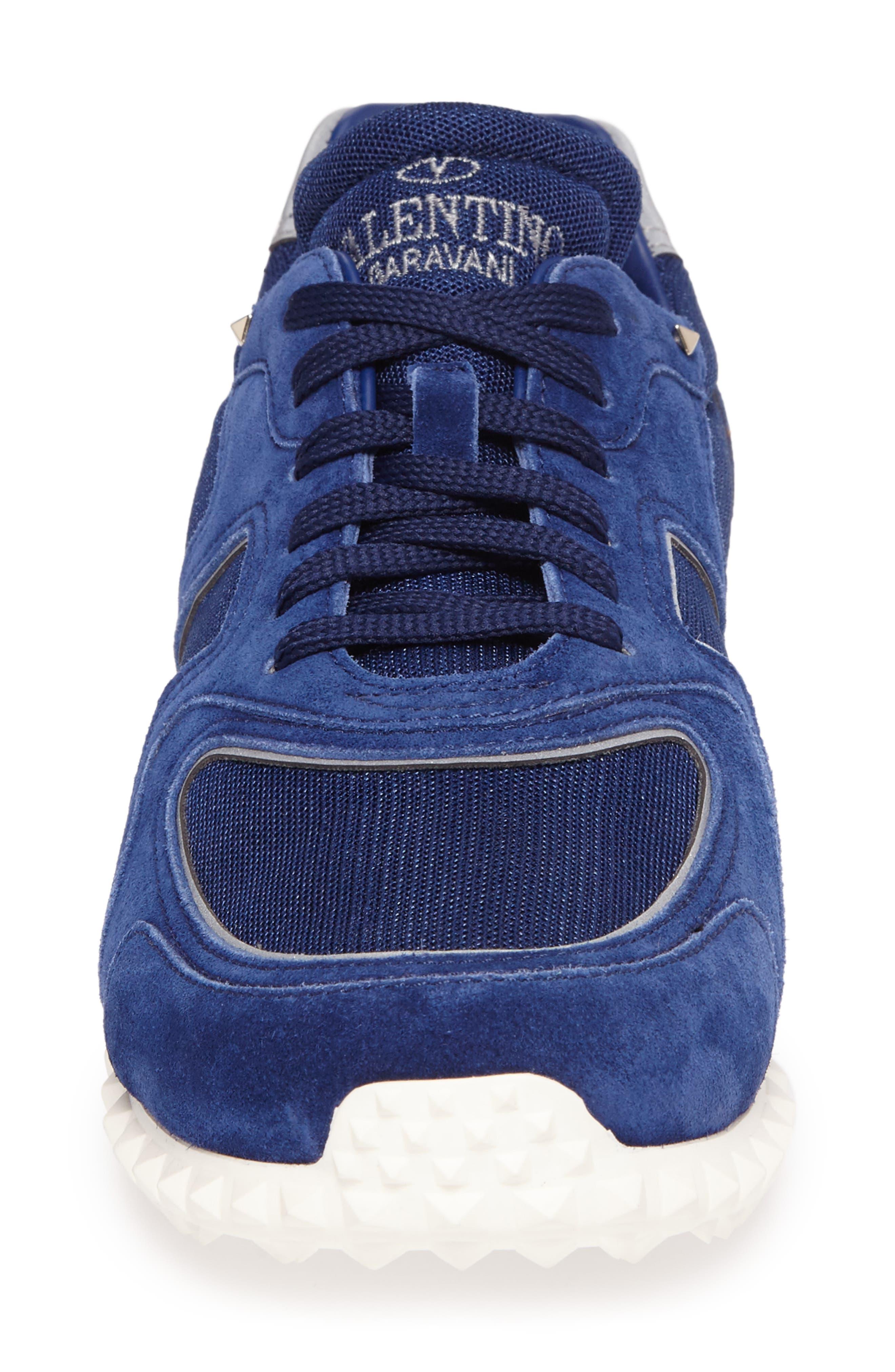 Soul AM Sneaker,                             Alternate thumbnail 4, color,                             Blue Royal/ Blue Royal