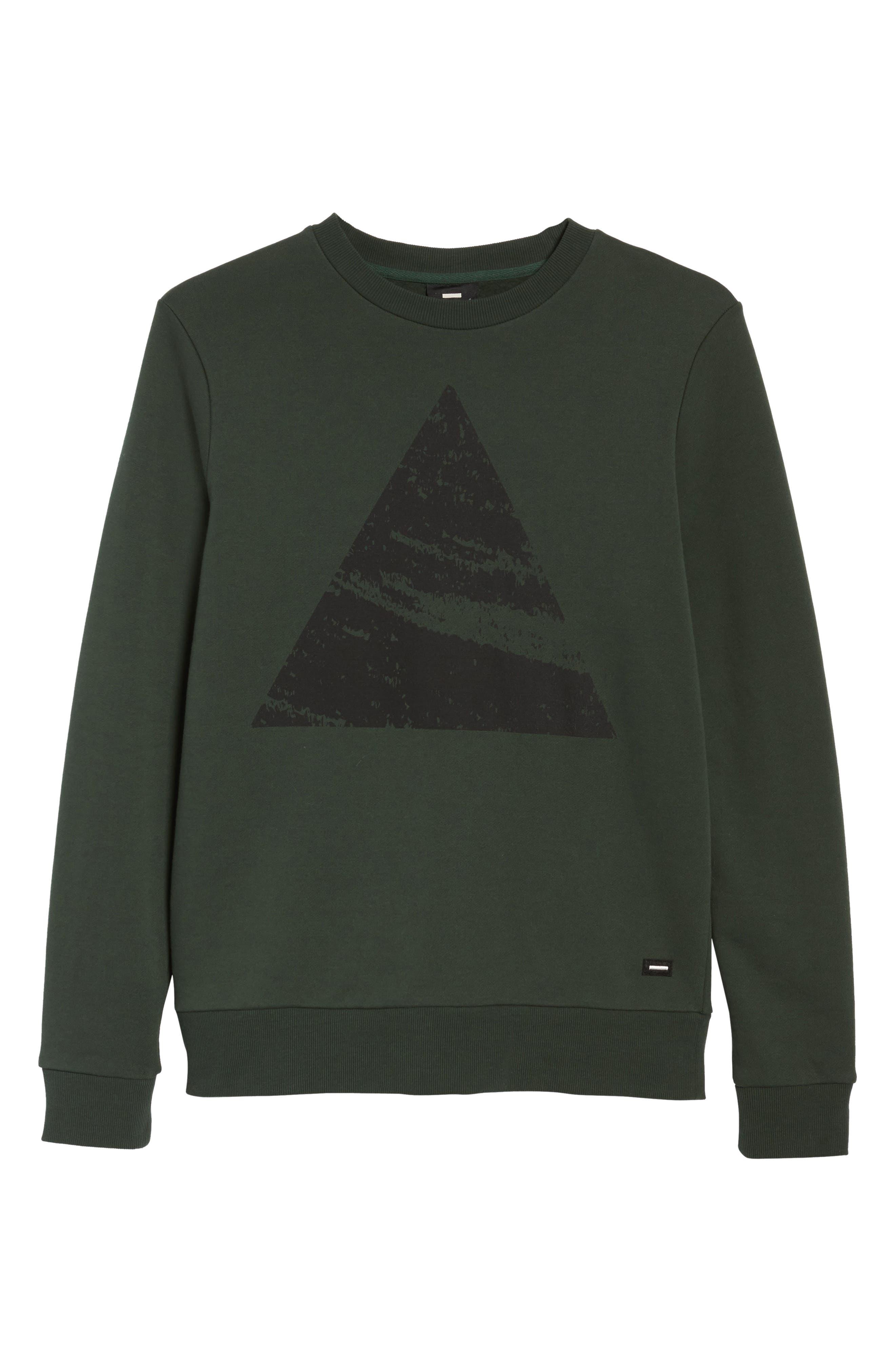 Adrian Sweatshirt,                             Alternate thumbnail 6, color,                             Green Mountain Peak