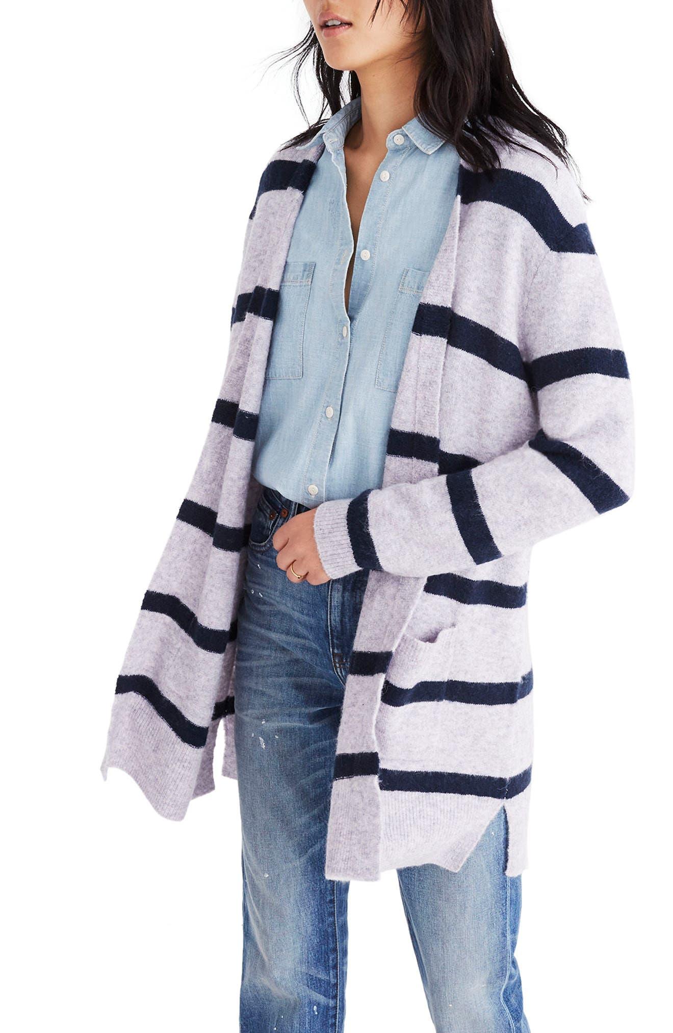 Alternate Image 3  - Madewell Kent Stripe Cardigan