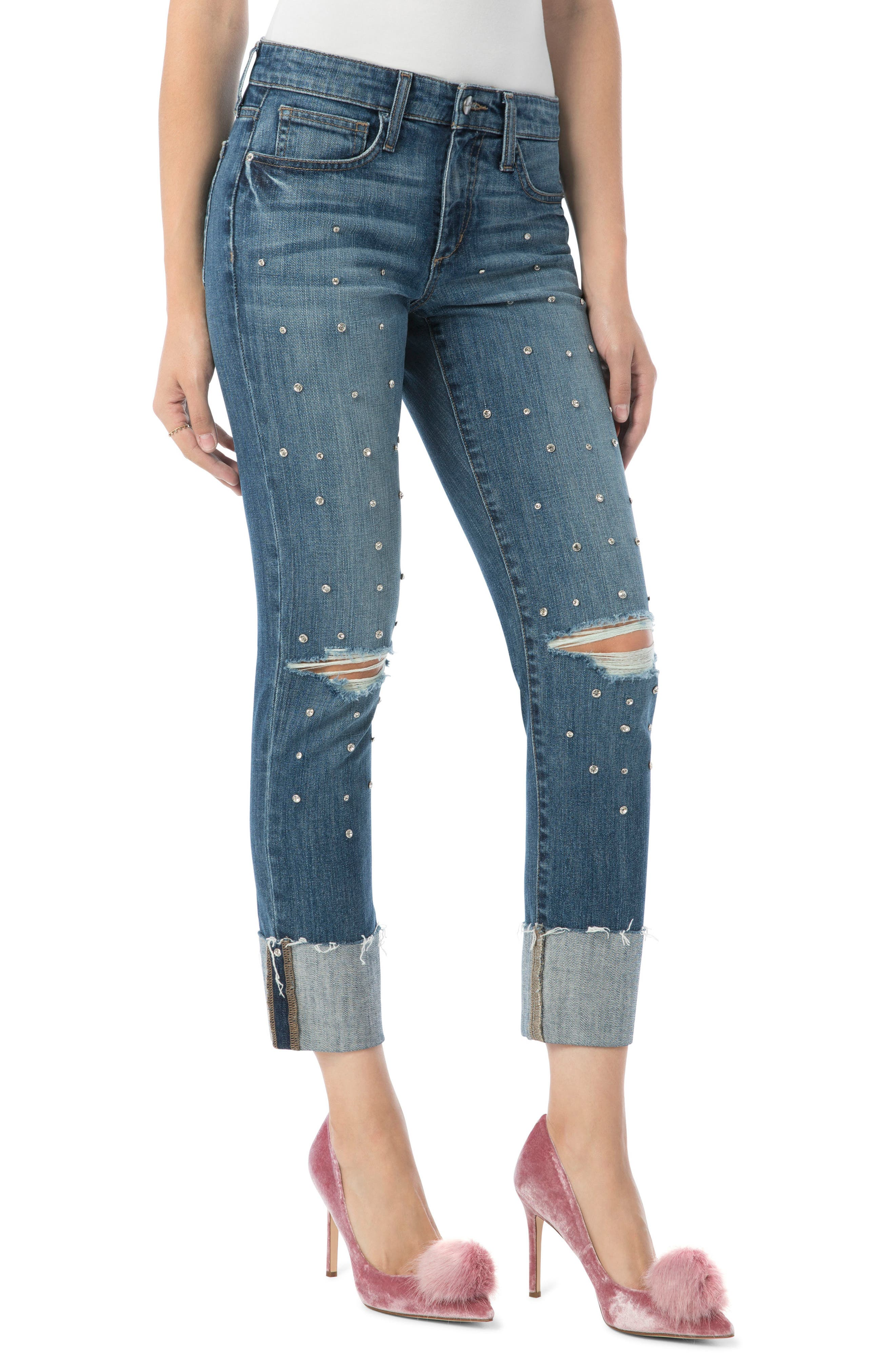 The Mary Jane High Rise Jean,                             Main thumbnail 1, color,                             Sunny