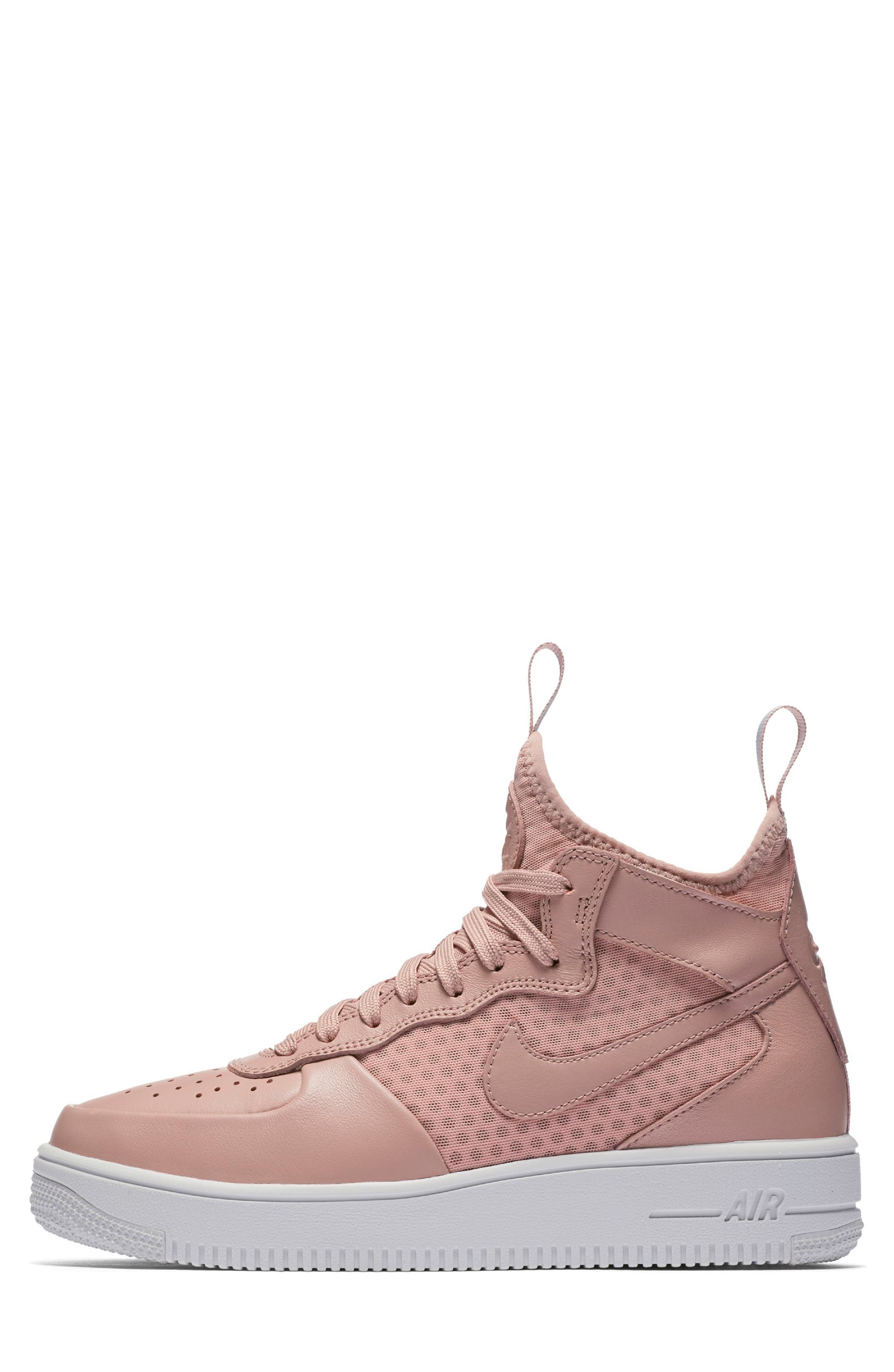 Alternate Image 2  - Nike Air Force 1 Ultraforce Mid Sneaker (Women)