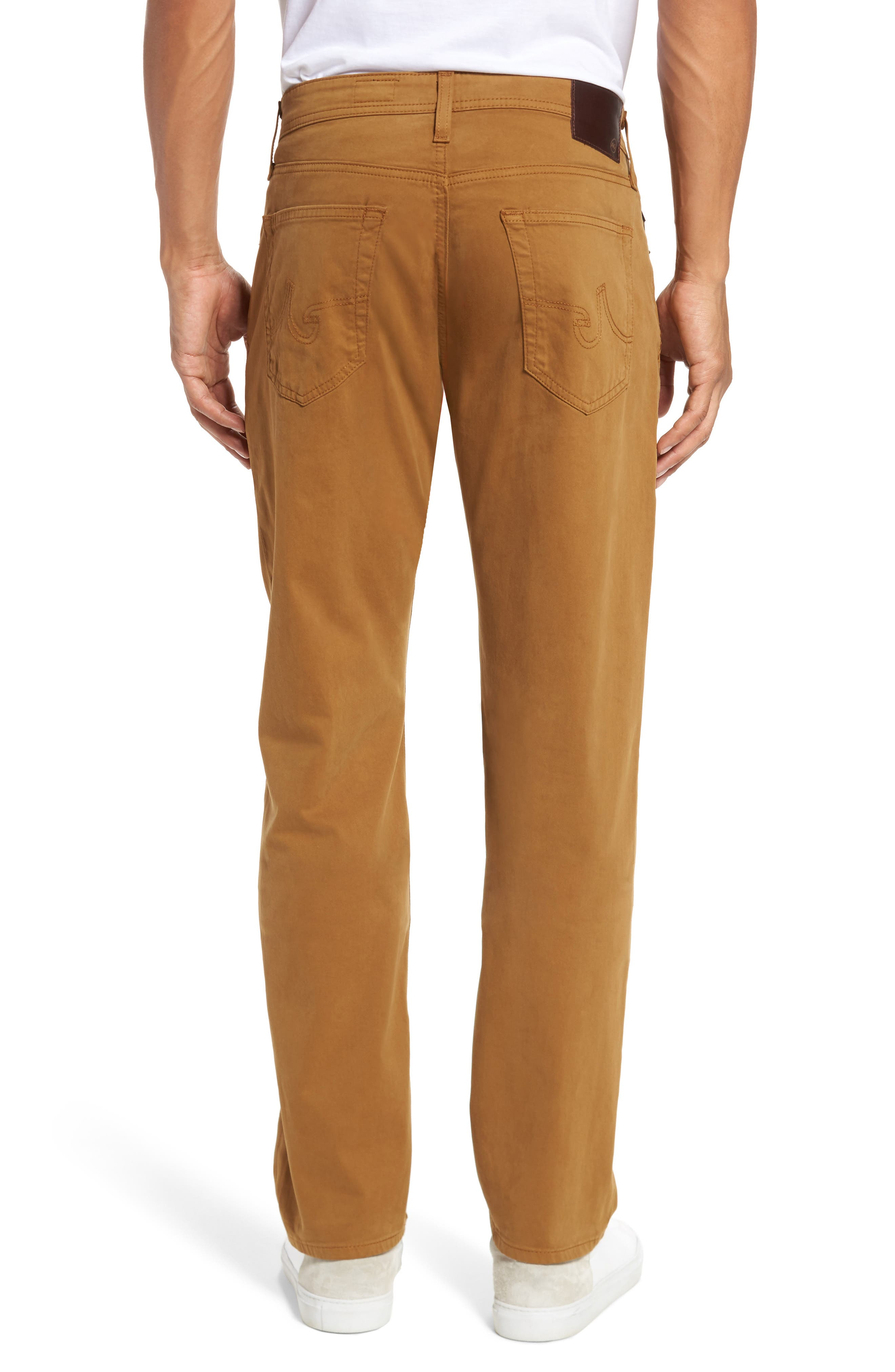 Graduate SUD Slim Straight Leg Pants,                             Alternate thumbnail 2, color,                             Burnt Saffron (Bfn)