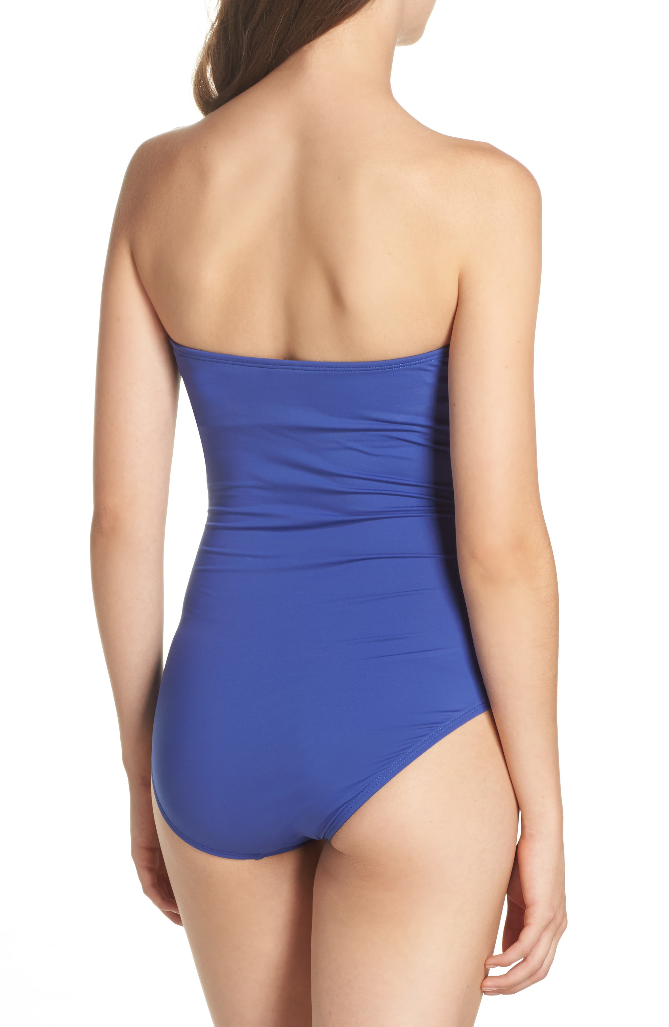 Alternate Image 2  - Tommy Bahama 'Pearl' Convertible One-Piece Swimsuit