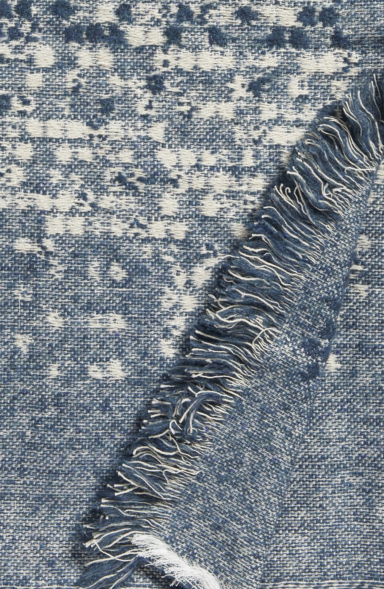 Jacquard Throw,                             Alternate thumbnail 3, color,                             Grey Grisaille
