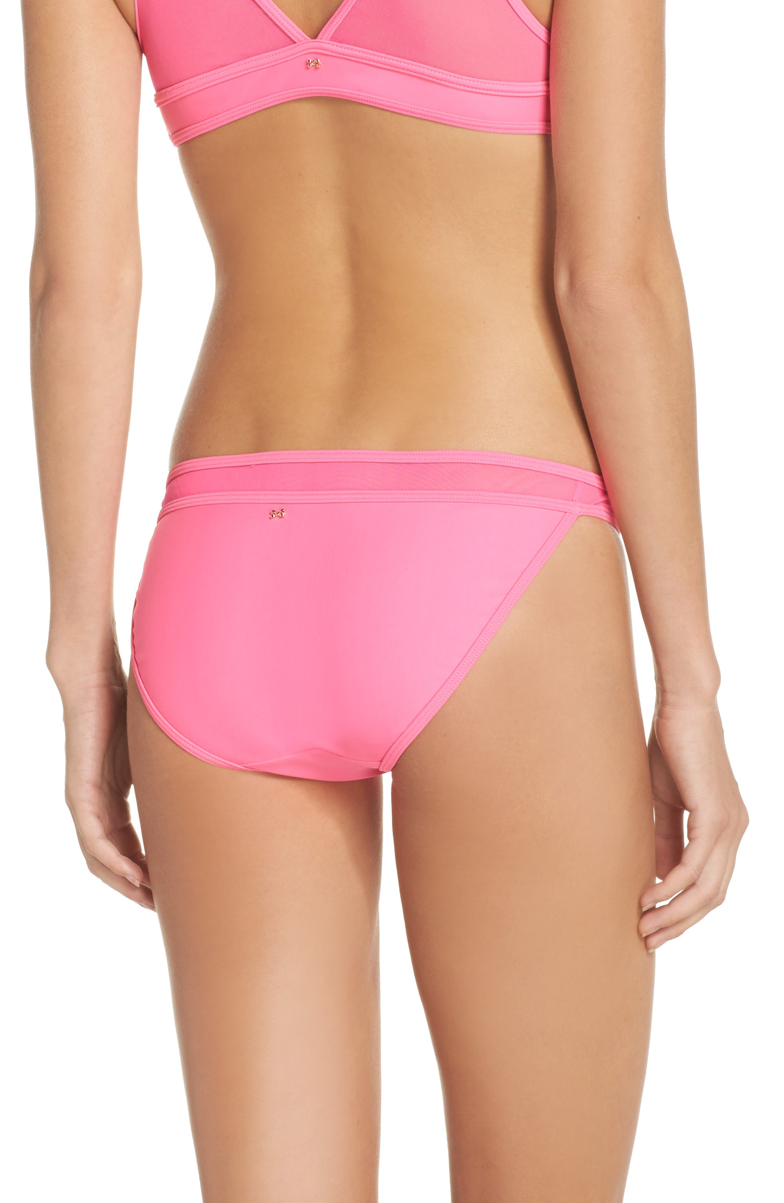 Alternate Image 2  - Ted Baker London Mesh Inset Bikini Bottoms
