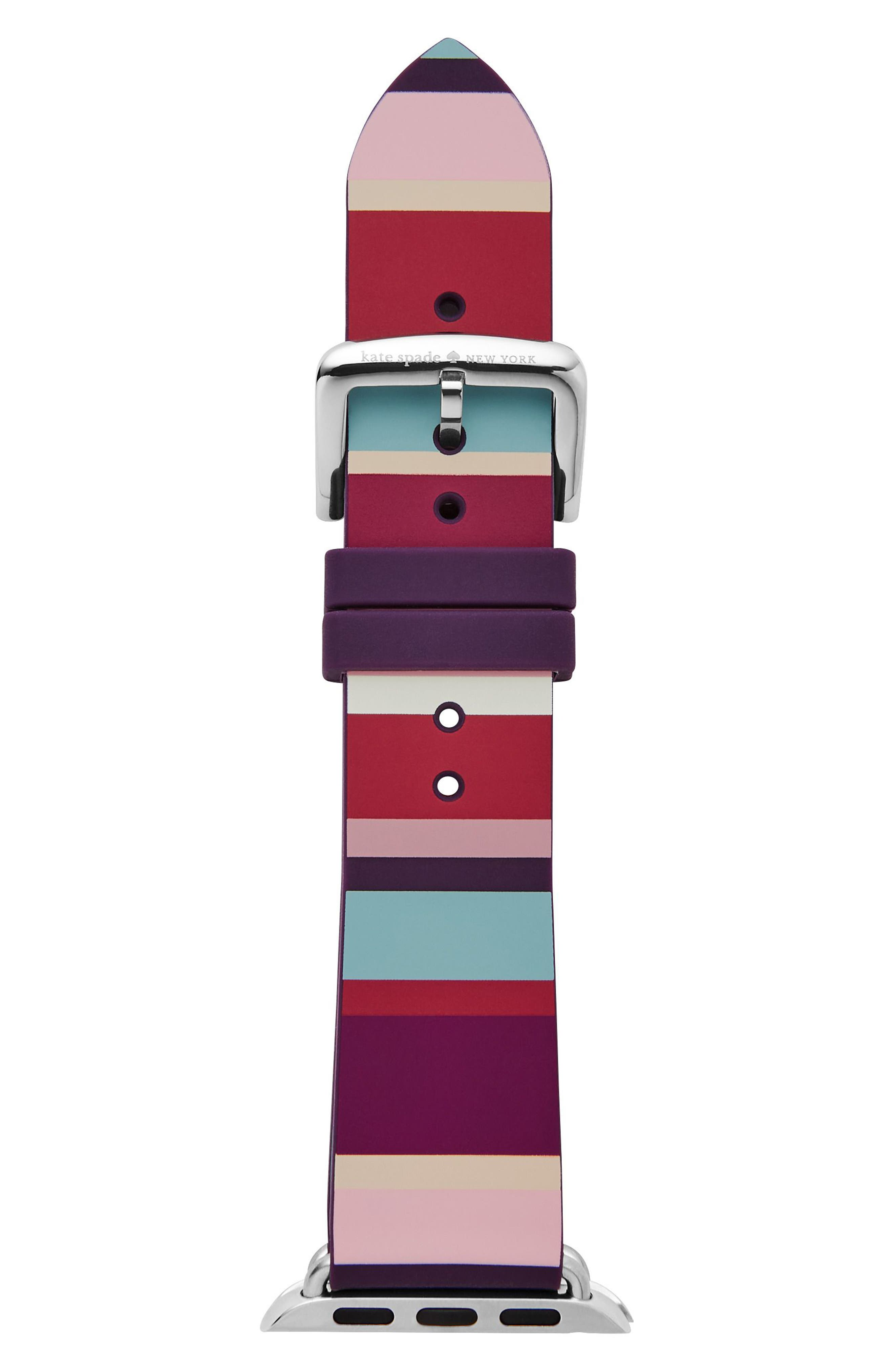 Apple Watch strap, 12mm,                             Alternate thumbnail 2, color,                             Multi