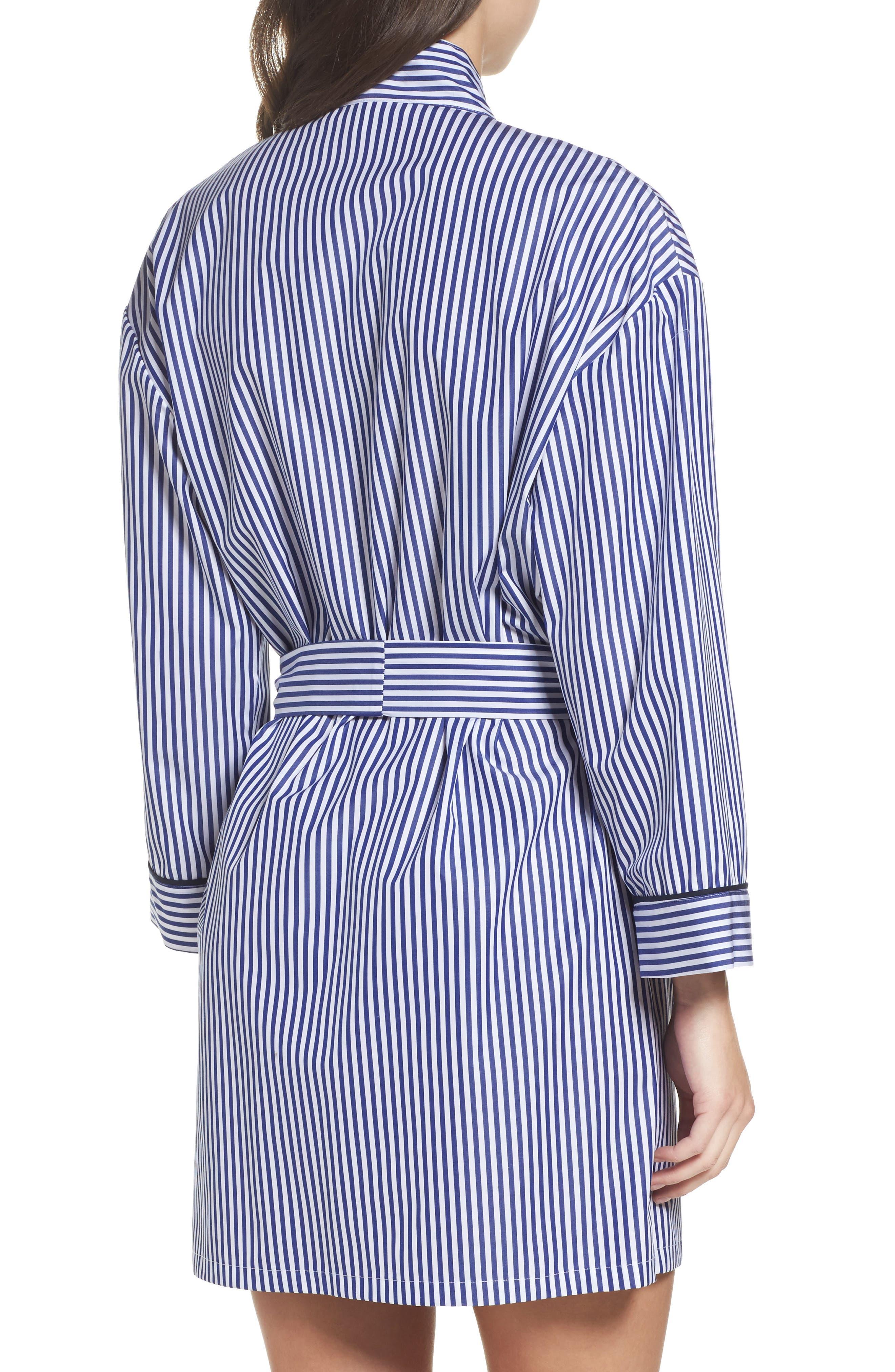 Alternate Image 2  - Pour Les Femmes Stripe Robe