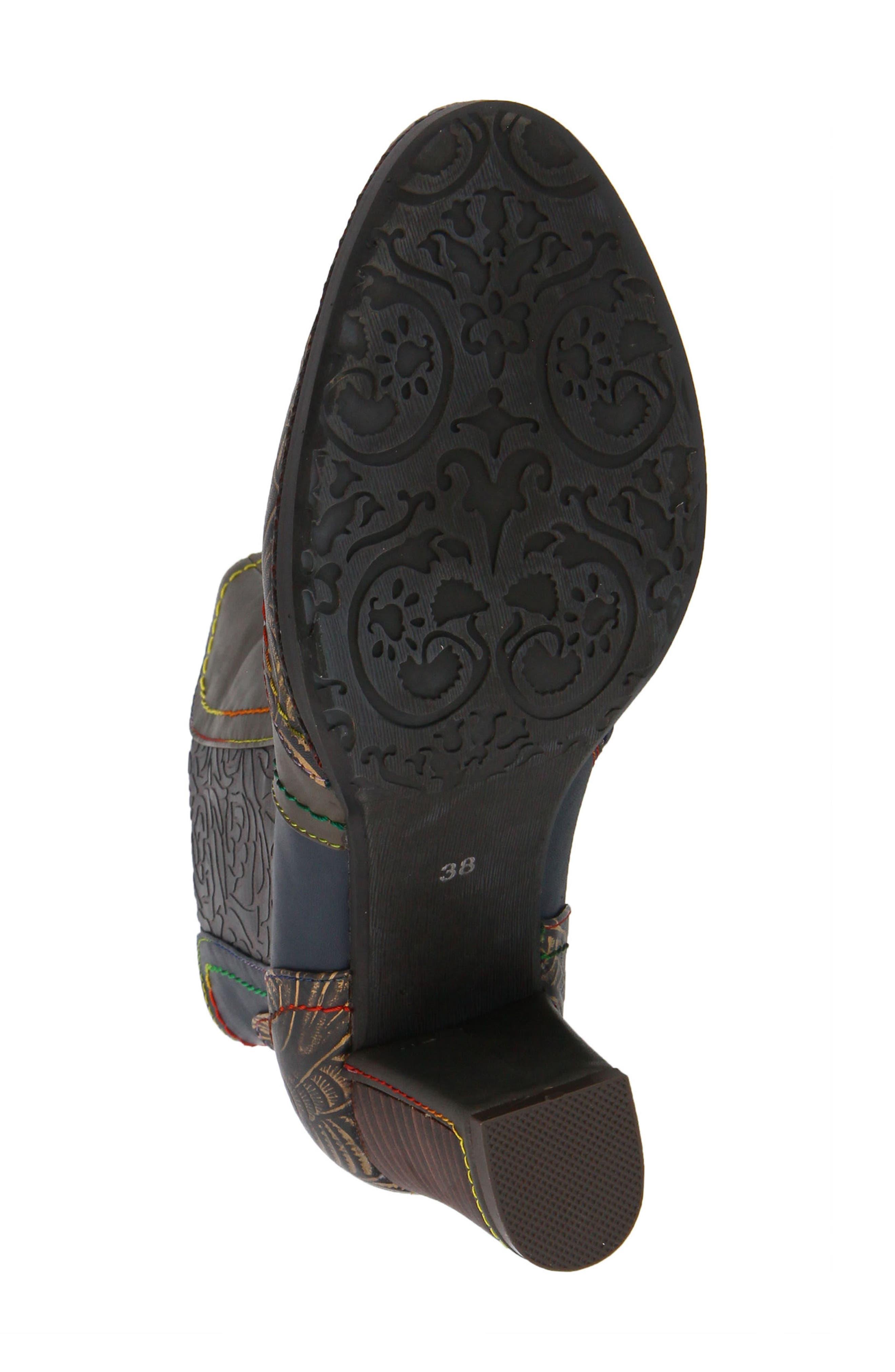 L'Artiste Santana Boot,                             Alternate thumbnail 5, color,                             Olive Green Leather