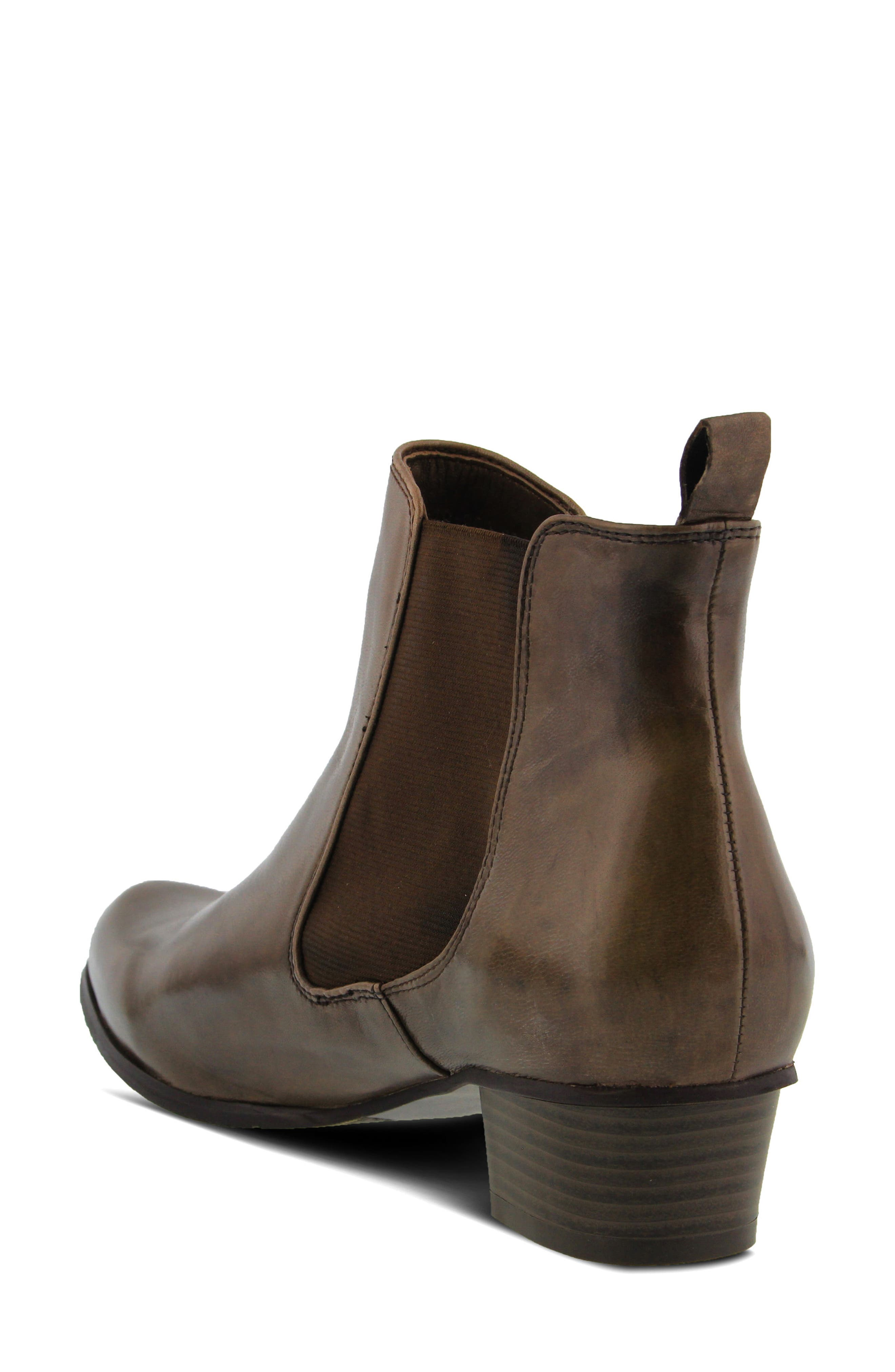Lithium Chelsea Boot,                             Alternate thumbnail 2, color,                             Taupe Leather