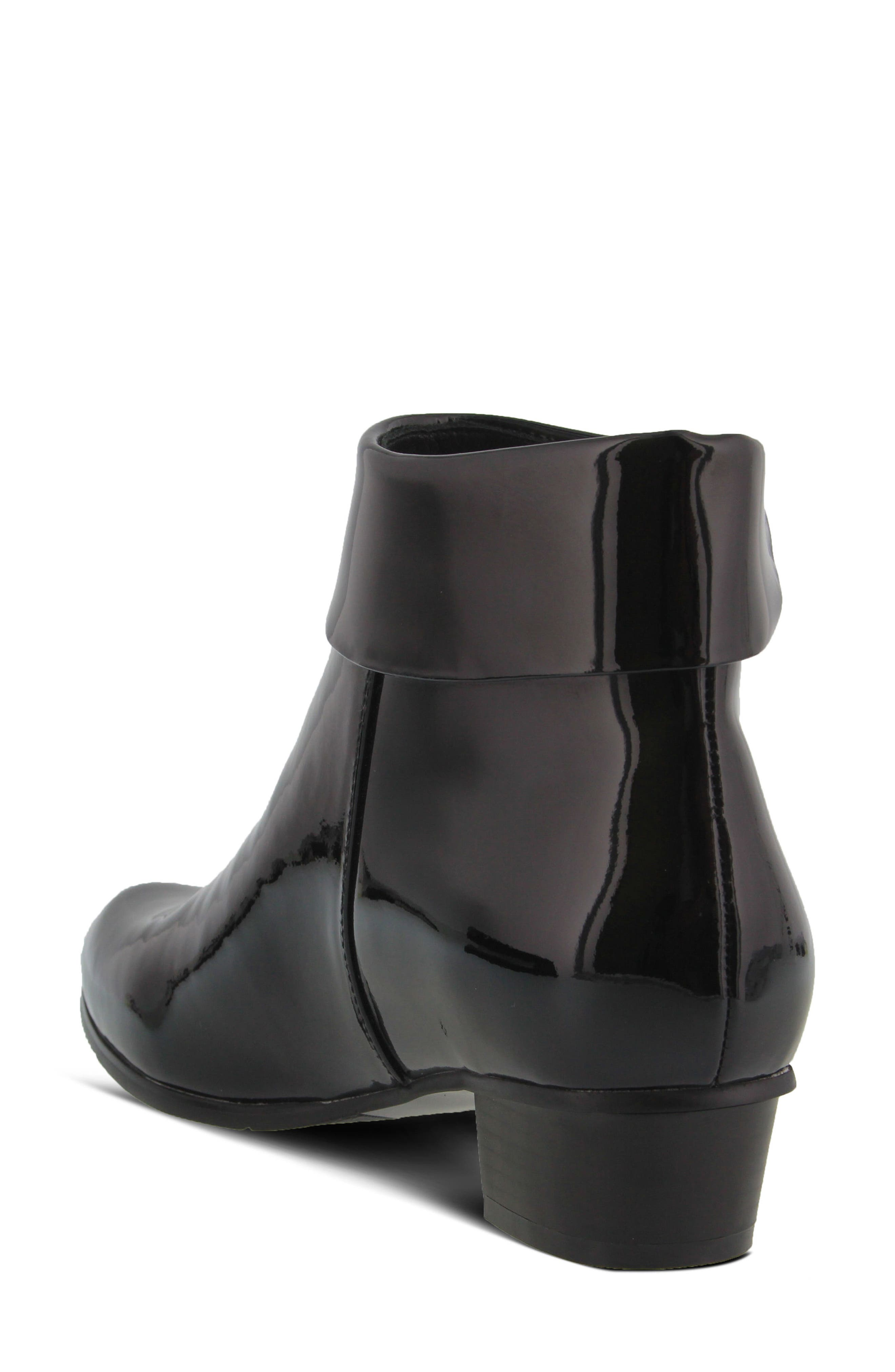 'Stockholm' Boot,                             Alternate thumbnail 2, color,                             Black Patent Leather