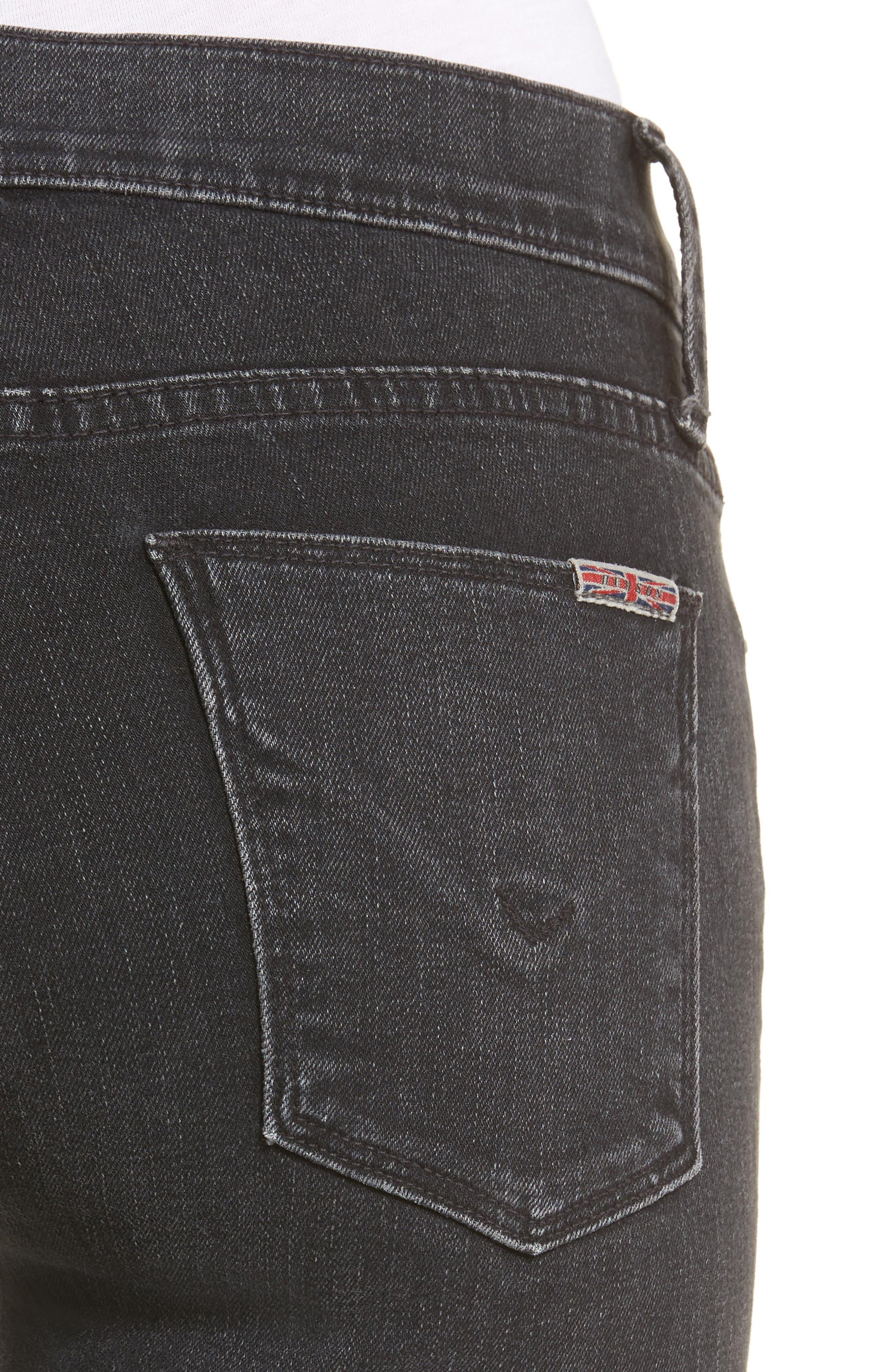 Nico Ankle Skinny Jeans,                             Alternate thumbnail 4, color,                             Omega