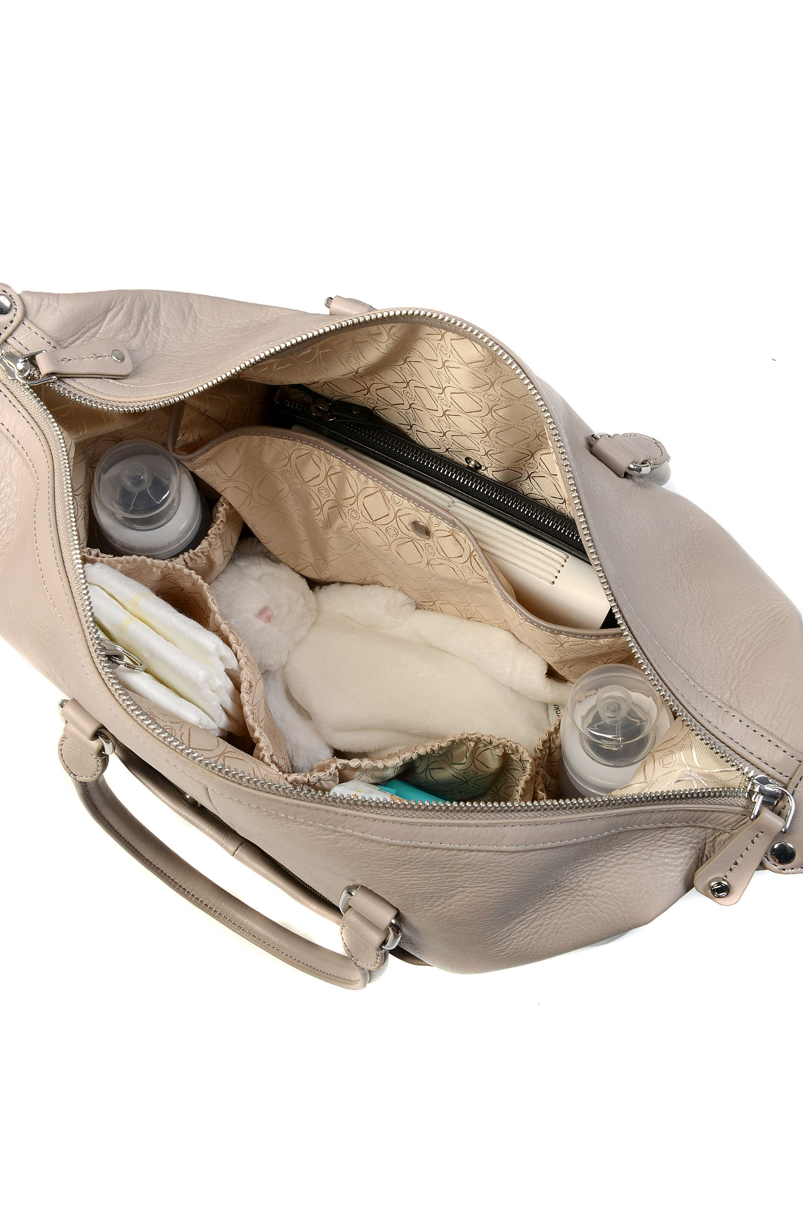 Alternate Image 9  - Kerikit Thea Leather Diaper Bag