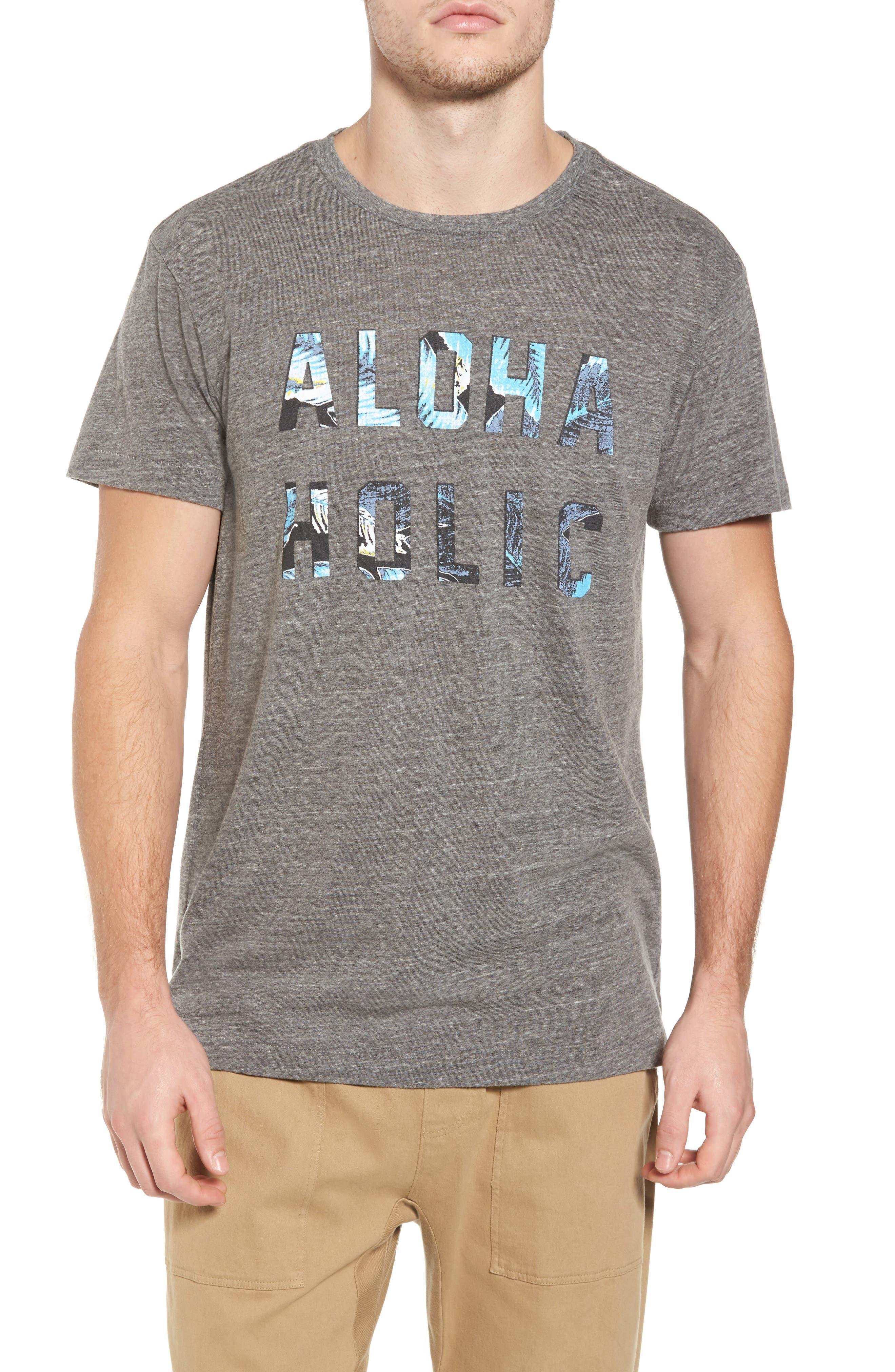 Alternate Image 1 Selected - Sol Angeles Aloha Holic Graphic T-Shirt