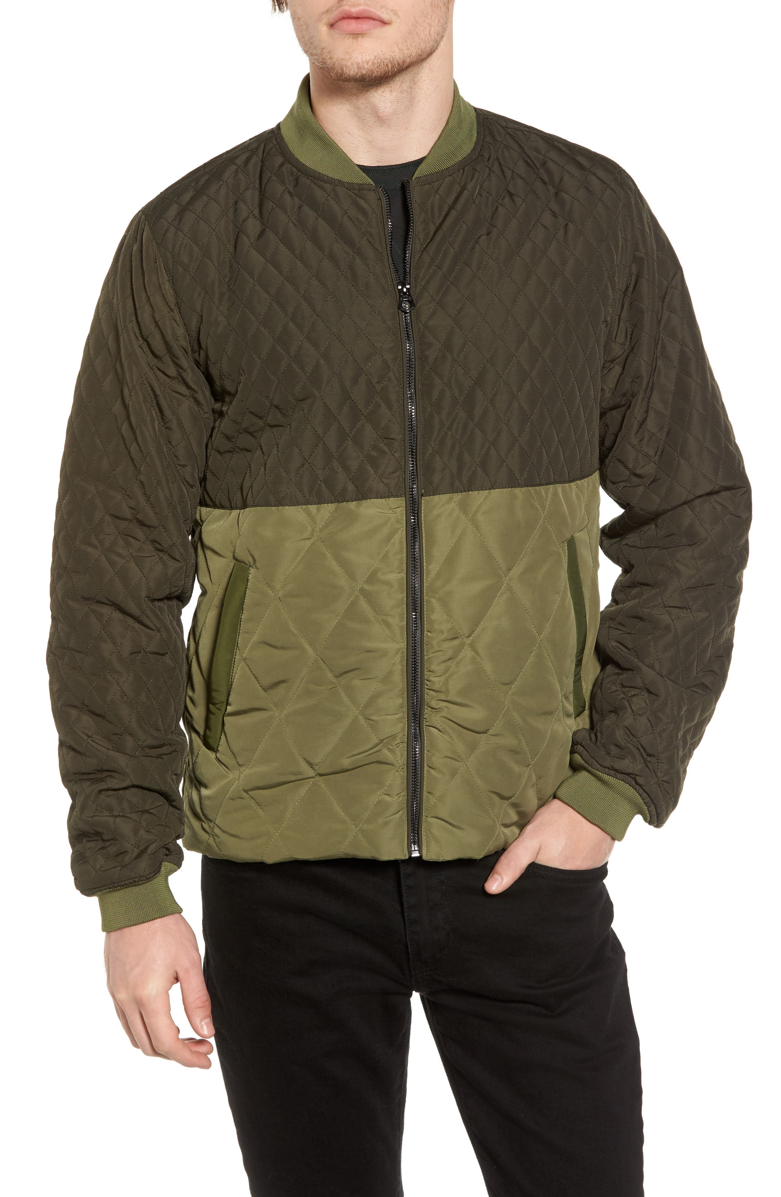 Double Layer Parker,                             Alternate thumbnail 2, color,                             Military Green