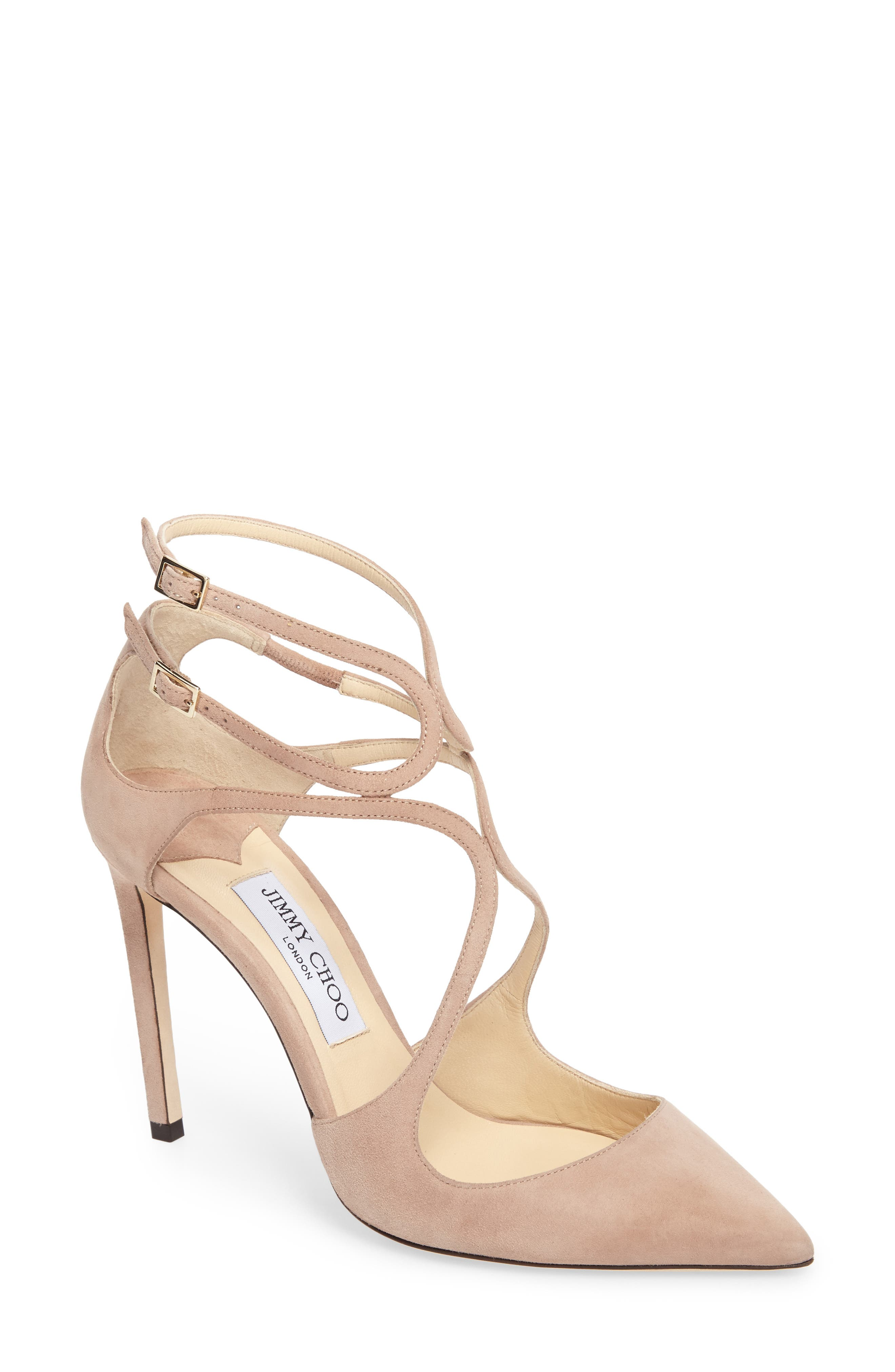 Alternate Image 1 Selected - Jimmy Choo Lancer Strappy Pump (Women)