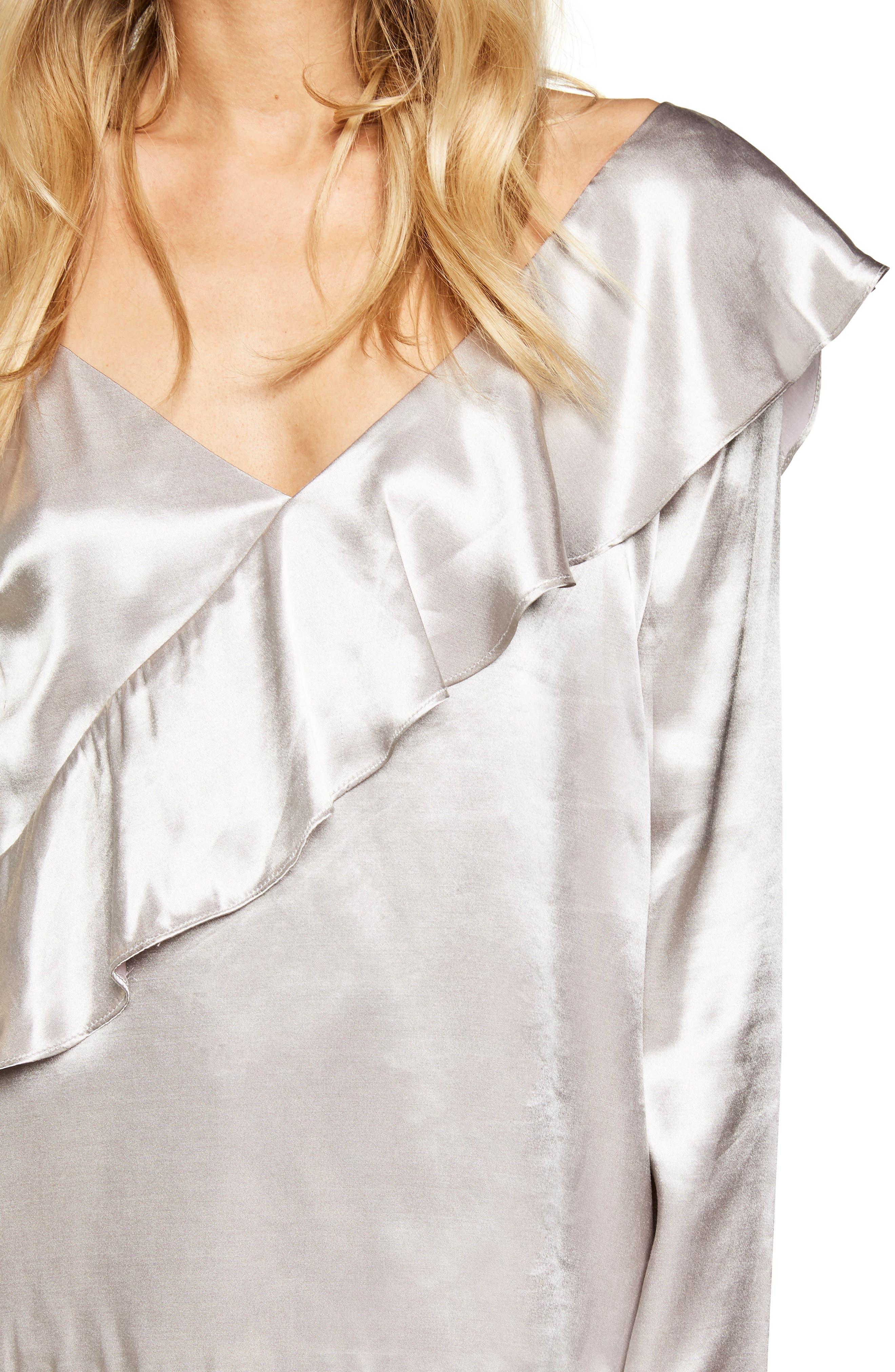 Alternate Image 4  - Bardot Frill Off the Shoulder Top