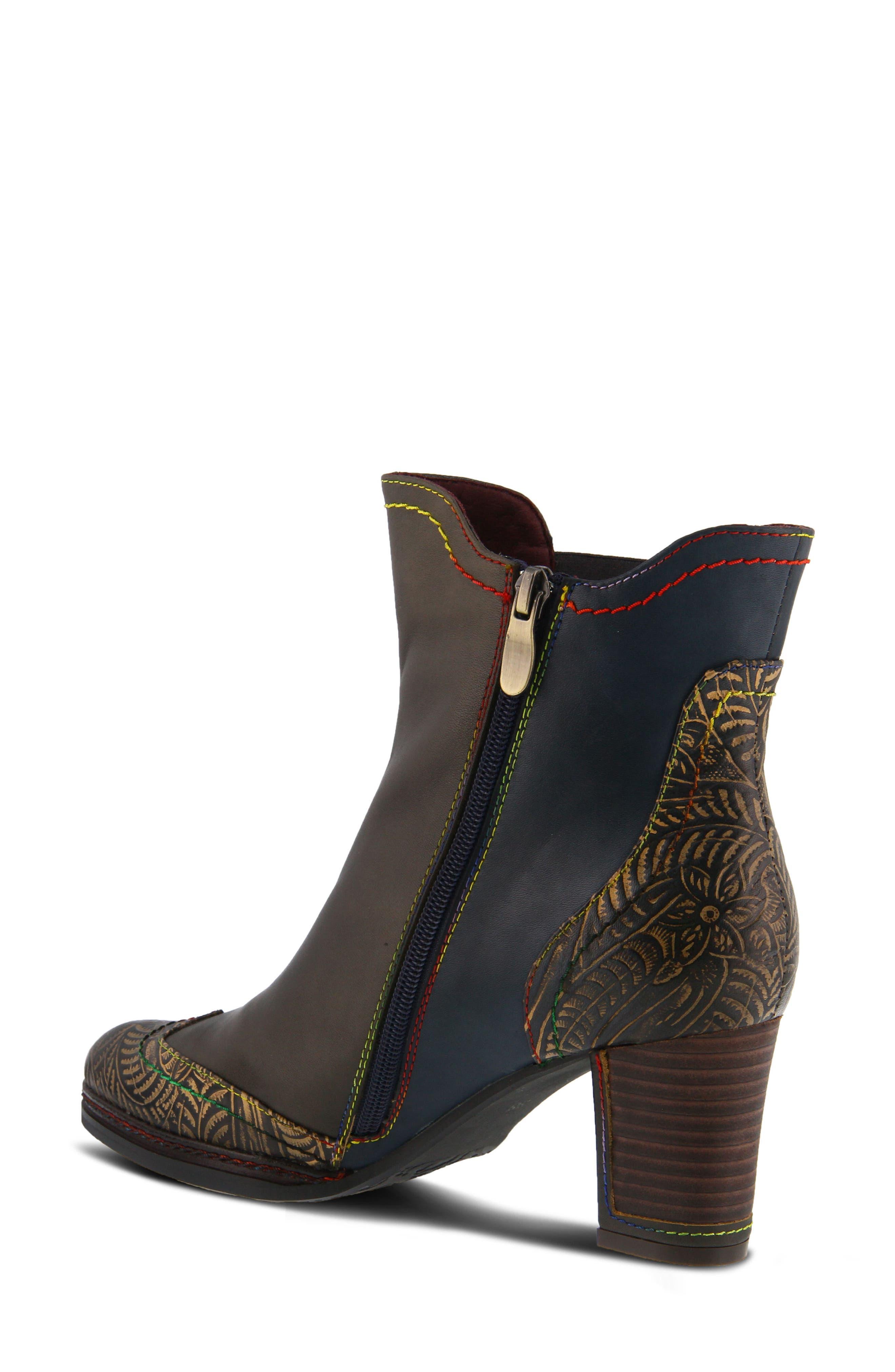 L'Artiste Santana Boot,                             Alternate thumbnail 2, color,                             Olive Green Leather