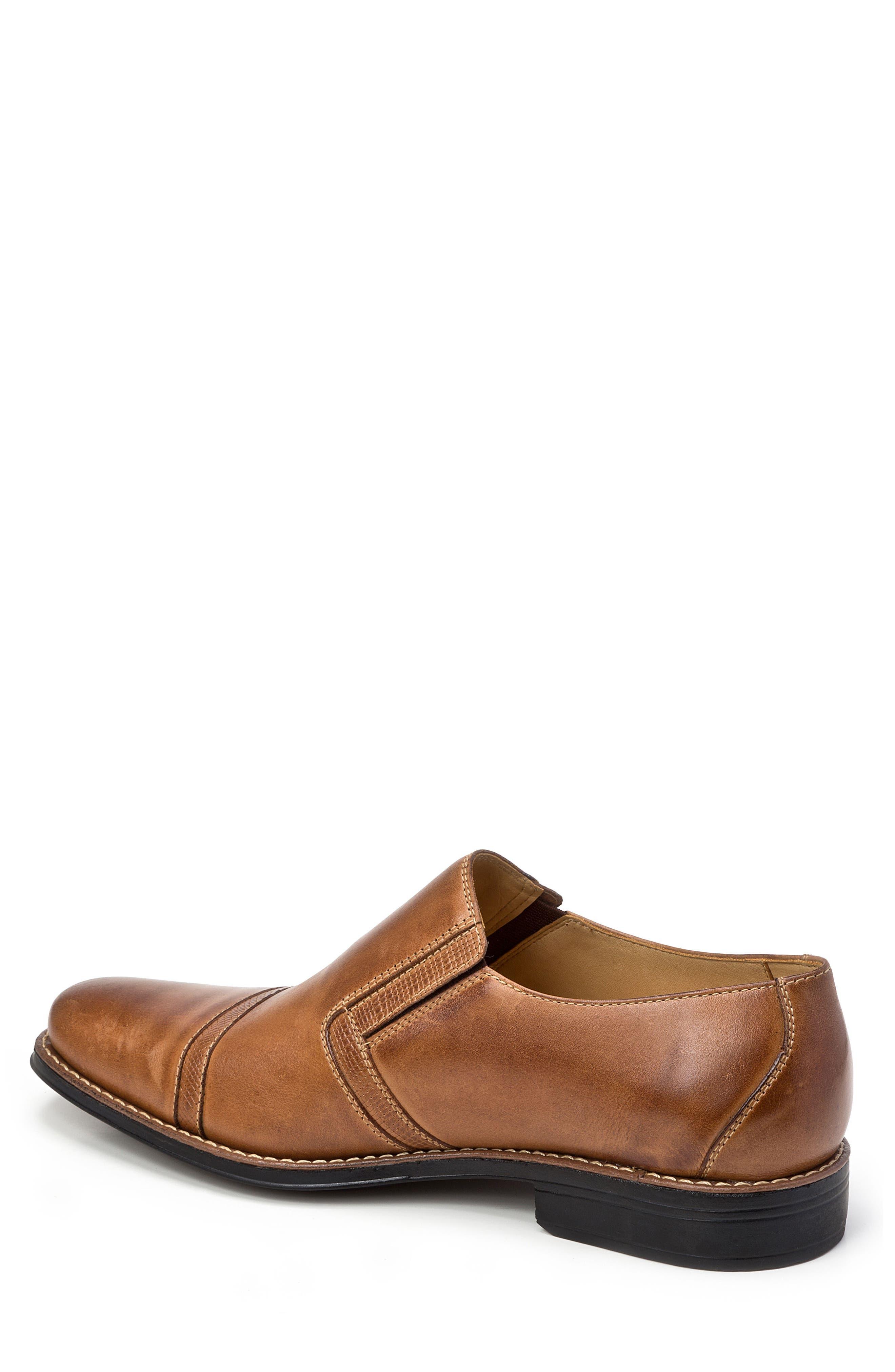 Sebastian Venetian Loafer,                             Alternate thumbnail 2, color,                             Tan Leather