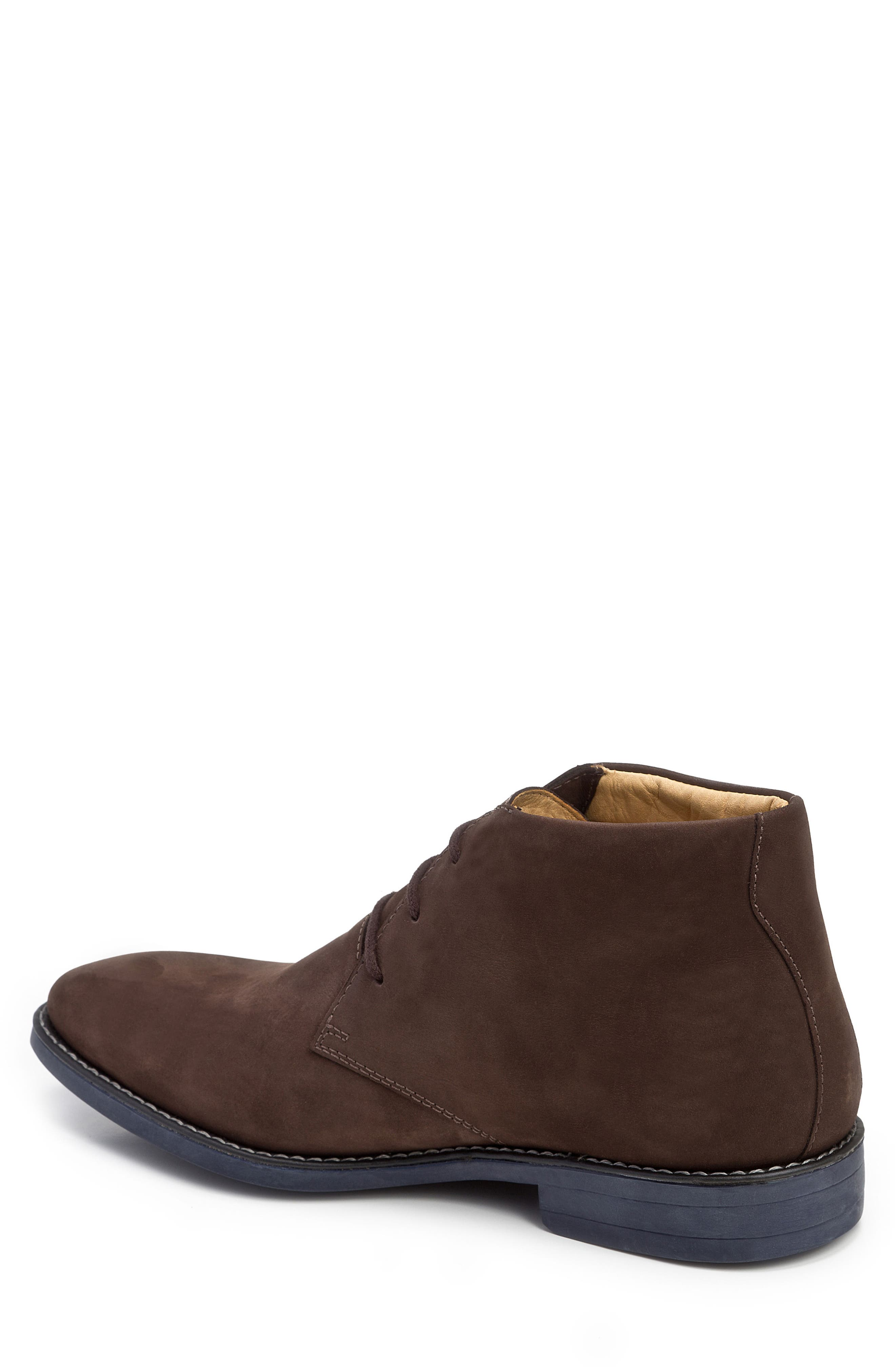 Nick Chukka Boot,                             Alternate thumbnail 2, color,                             Brown Nubuck Leather