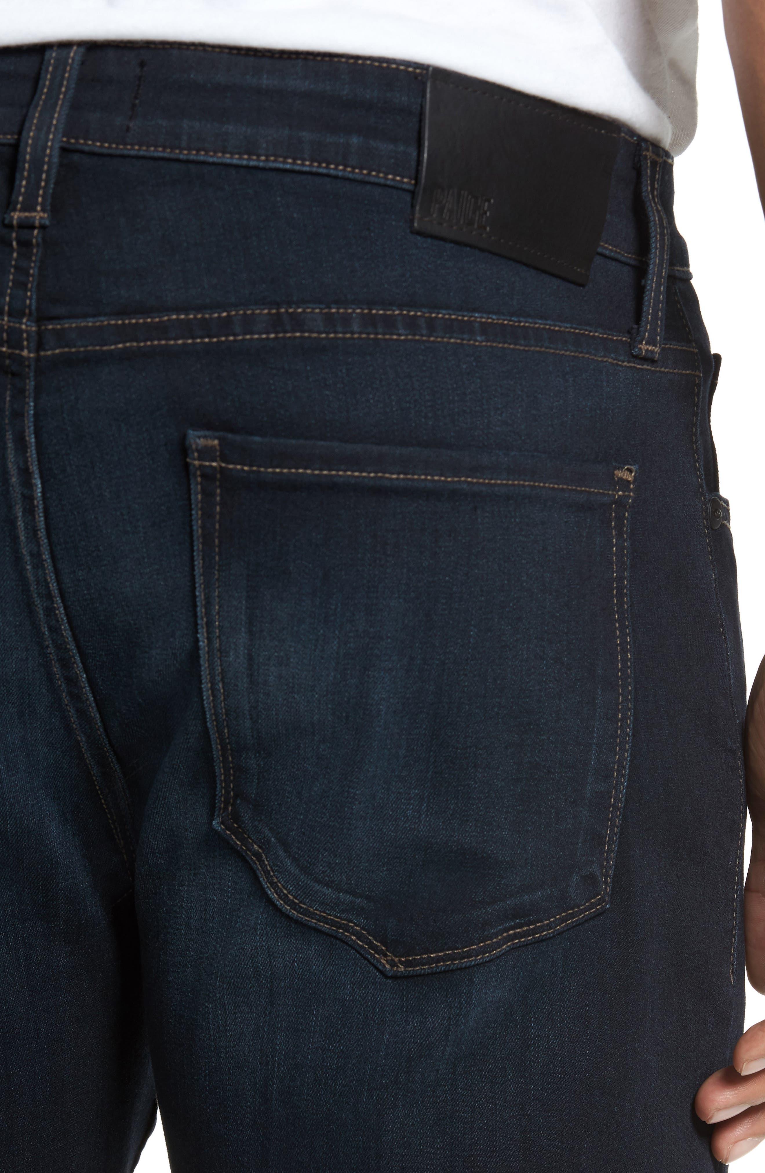Alternate Image 4  - PAIGE Transcend - Lennox Slim Fit Jeans (Rafter)