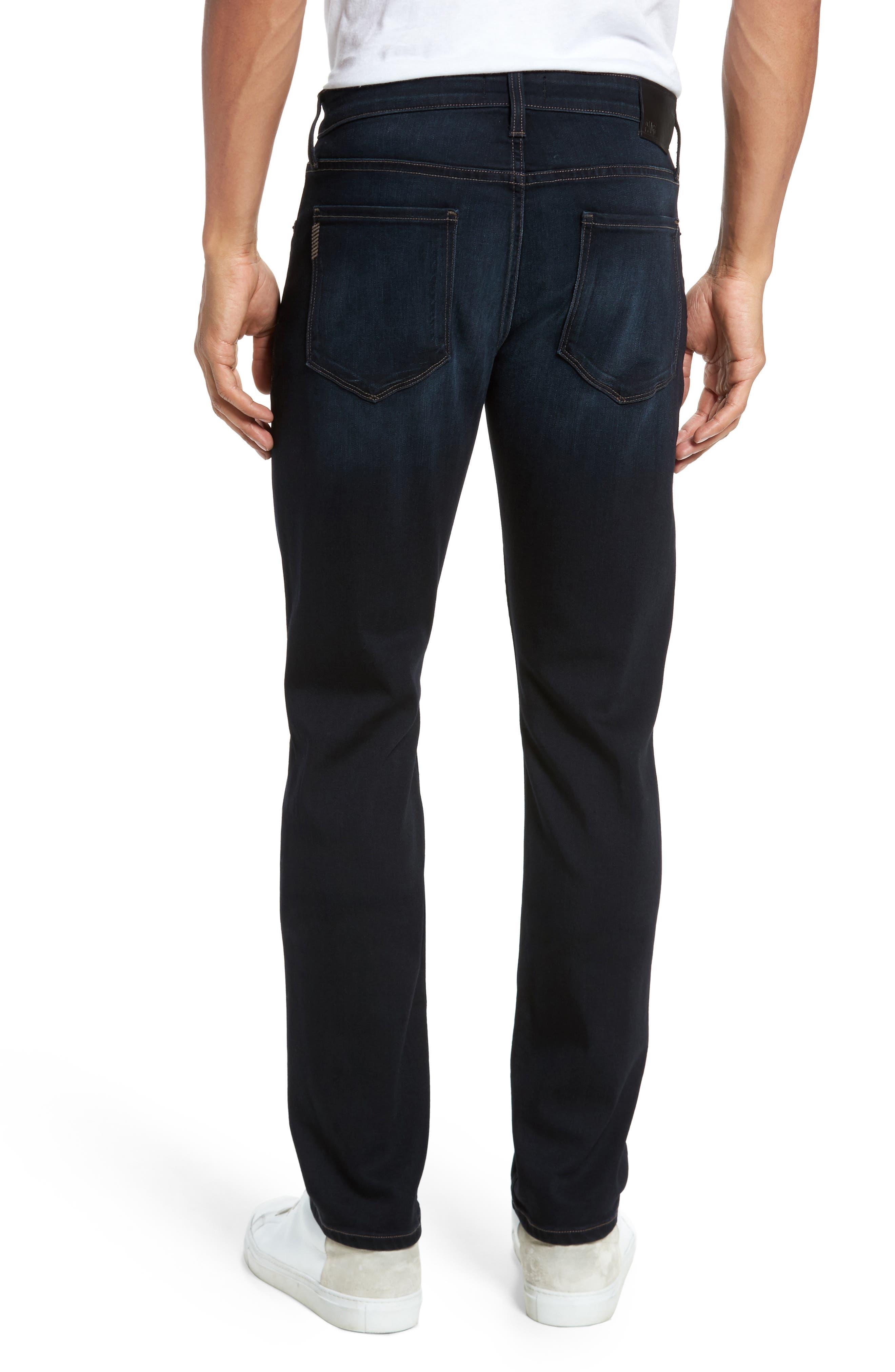 Alternate Image 2  - PAIGE Transcend - Lennox Slim Fit Jeans (Rafter)