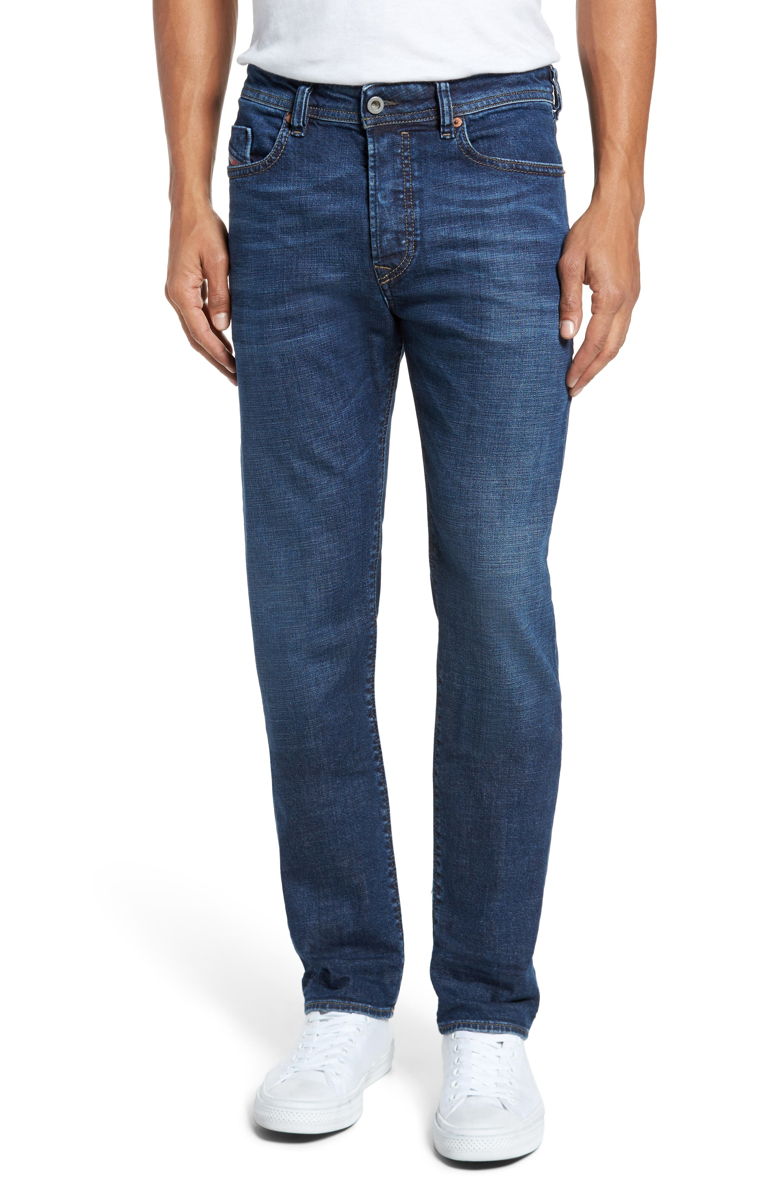 DIESEL® Buster Slim Straight Fit Jeans