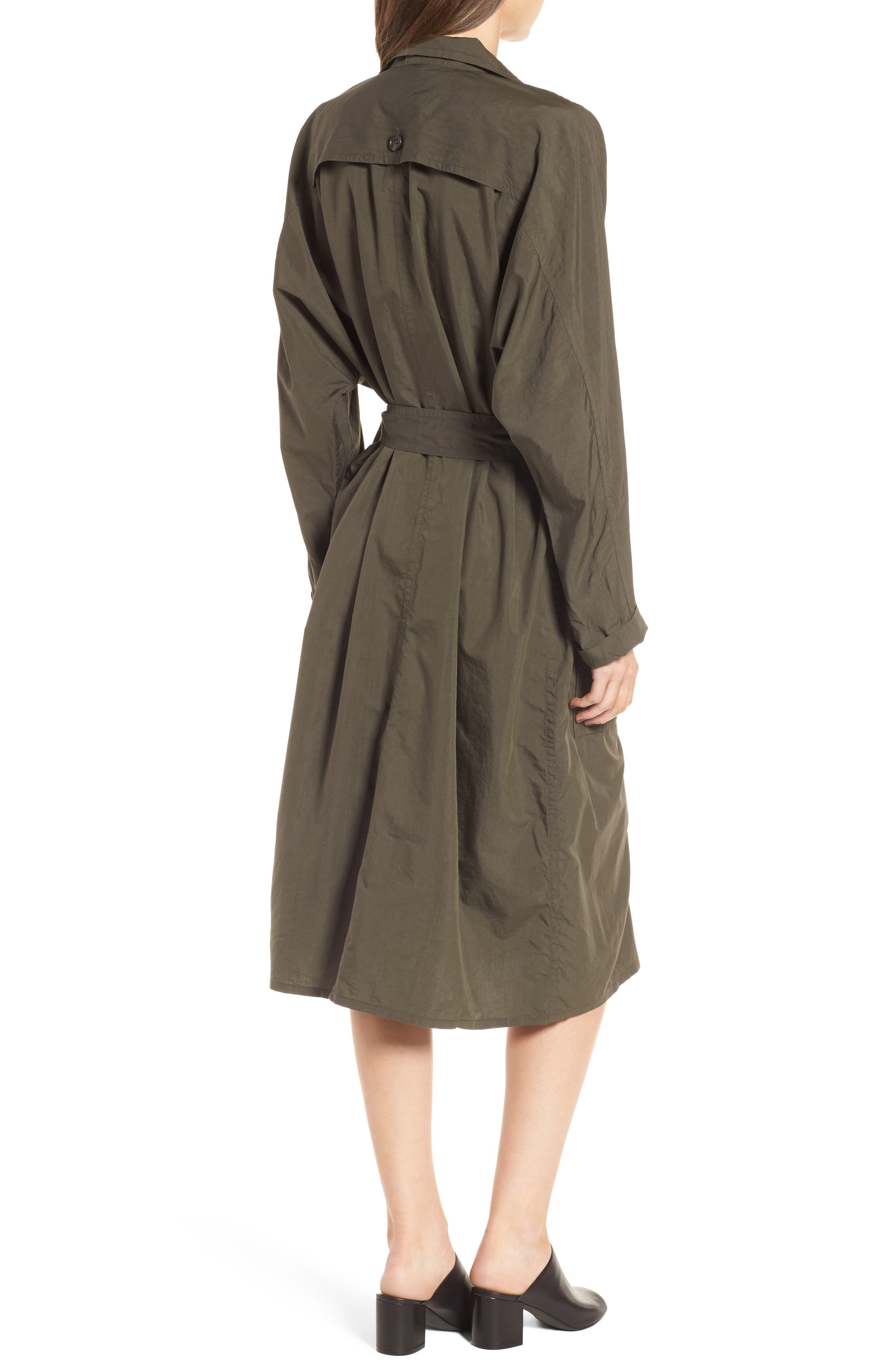 Alternate Image 2  - James Perse Zip Front Jacket Dress