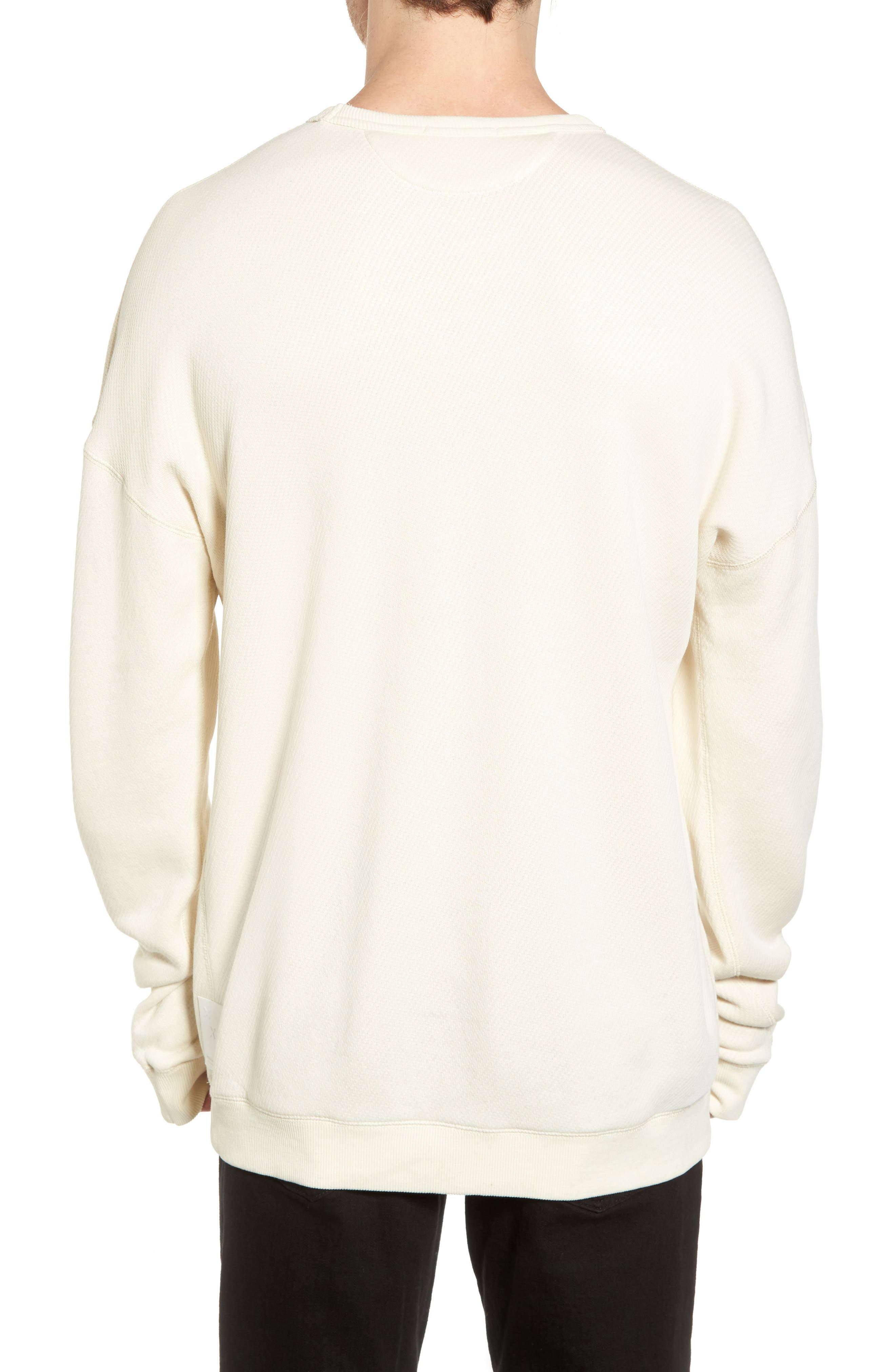 Graphic Sweatshirt,                             Alternate thumbnail 2, color,                             Ecru