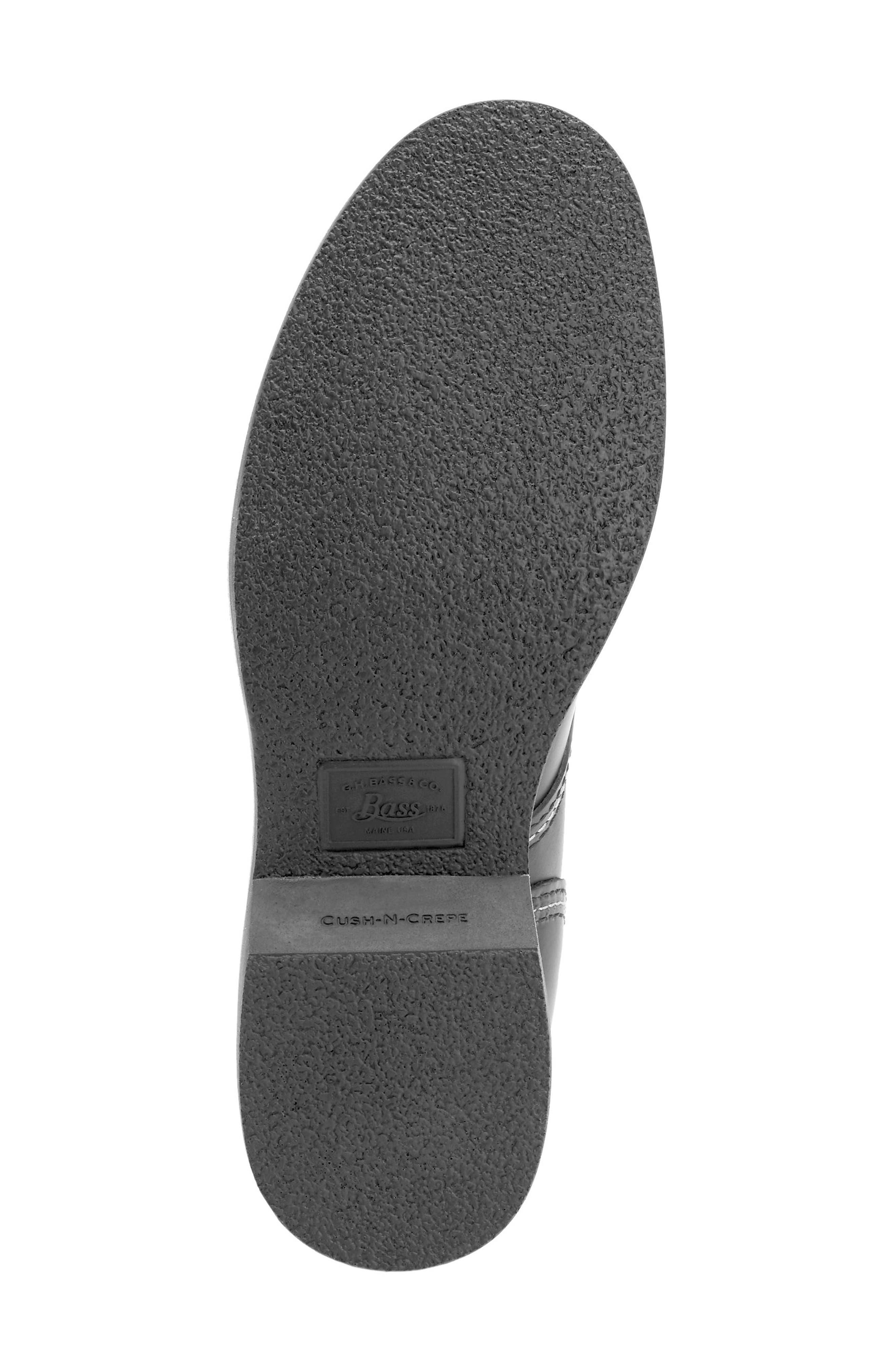Reid Plain Toe Boot,                             Alternate thumbnail 6, color,                             Black
