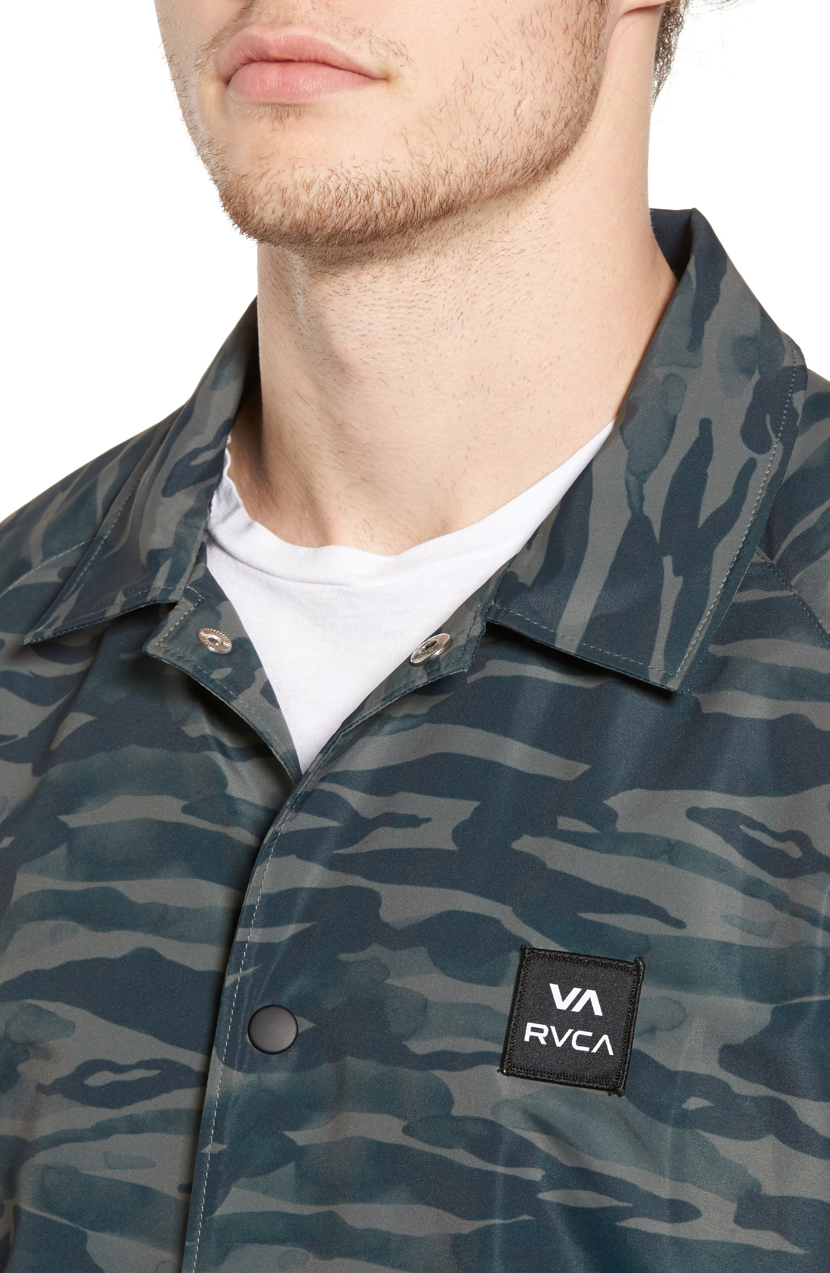 Alternate Image 4  - RVCA All the Way Coach's Jacket