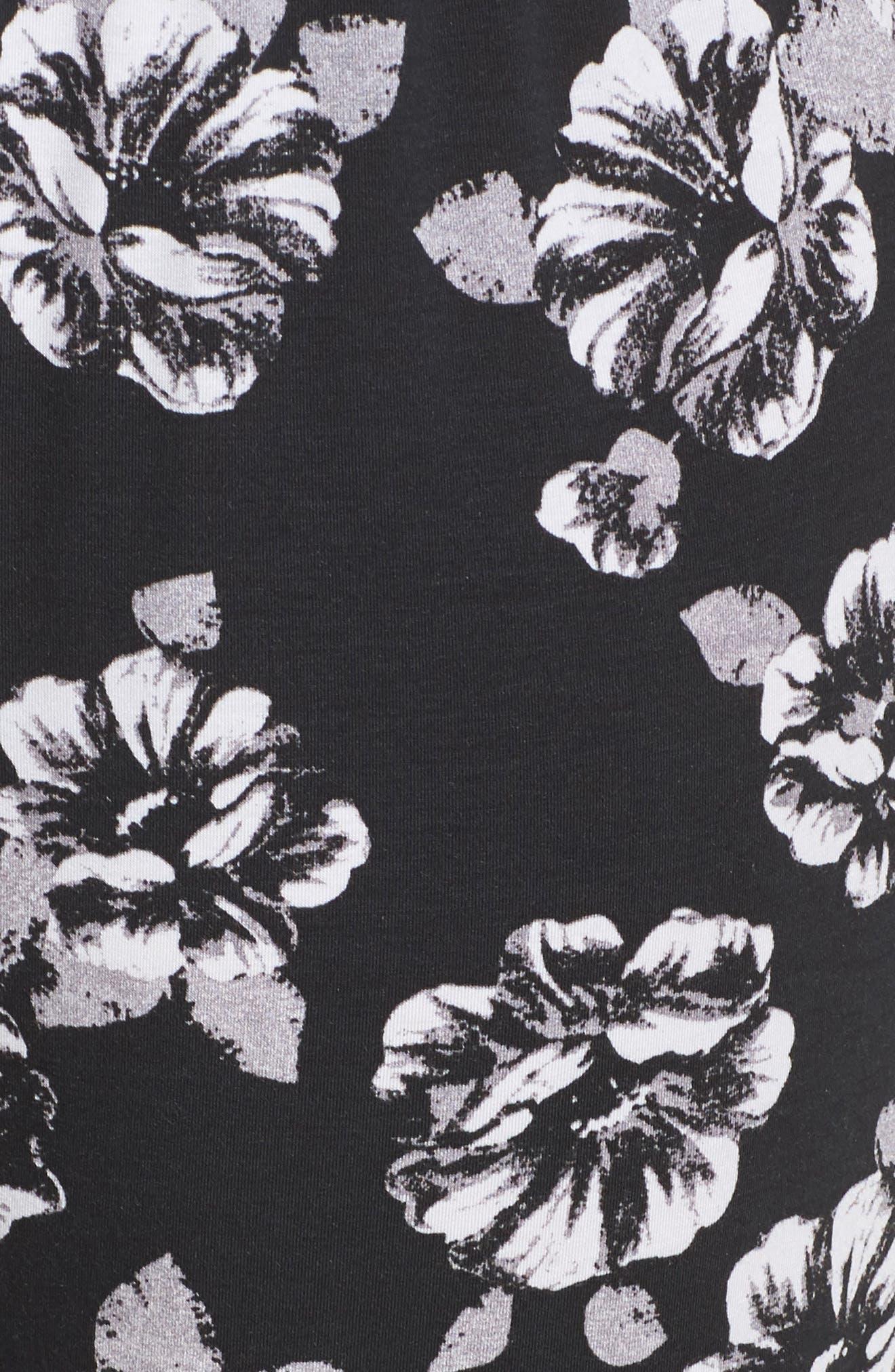 Pajama Pants,                             Alternate thumbnail 5, color,                             Black