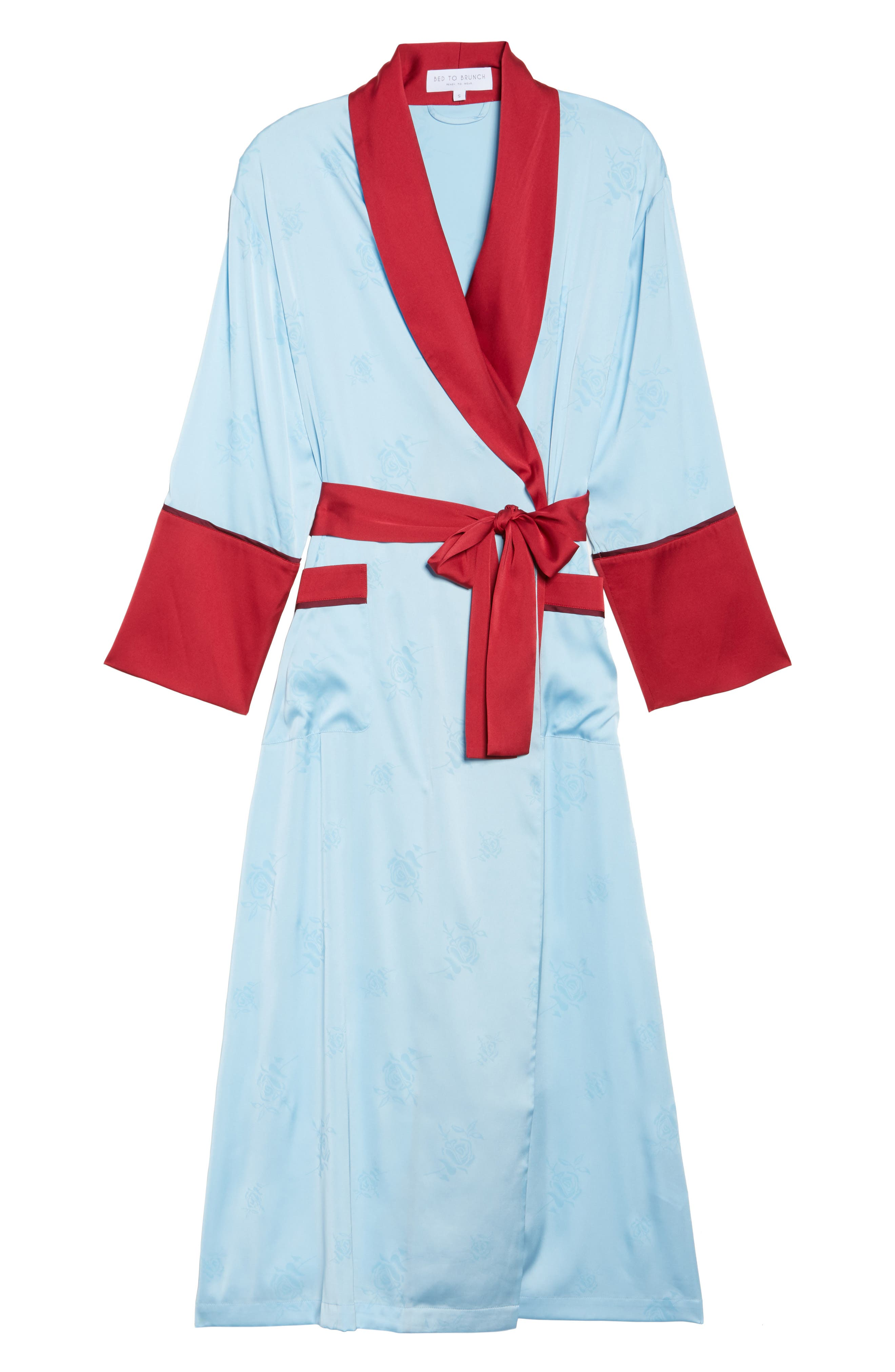 Robe,                             Alternate thumbnail 6, color,                             Light Blue