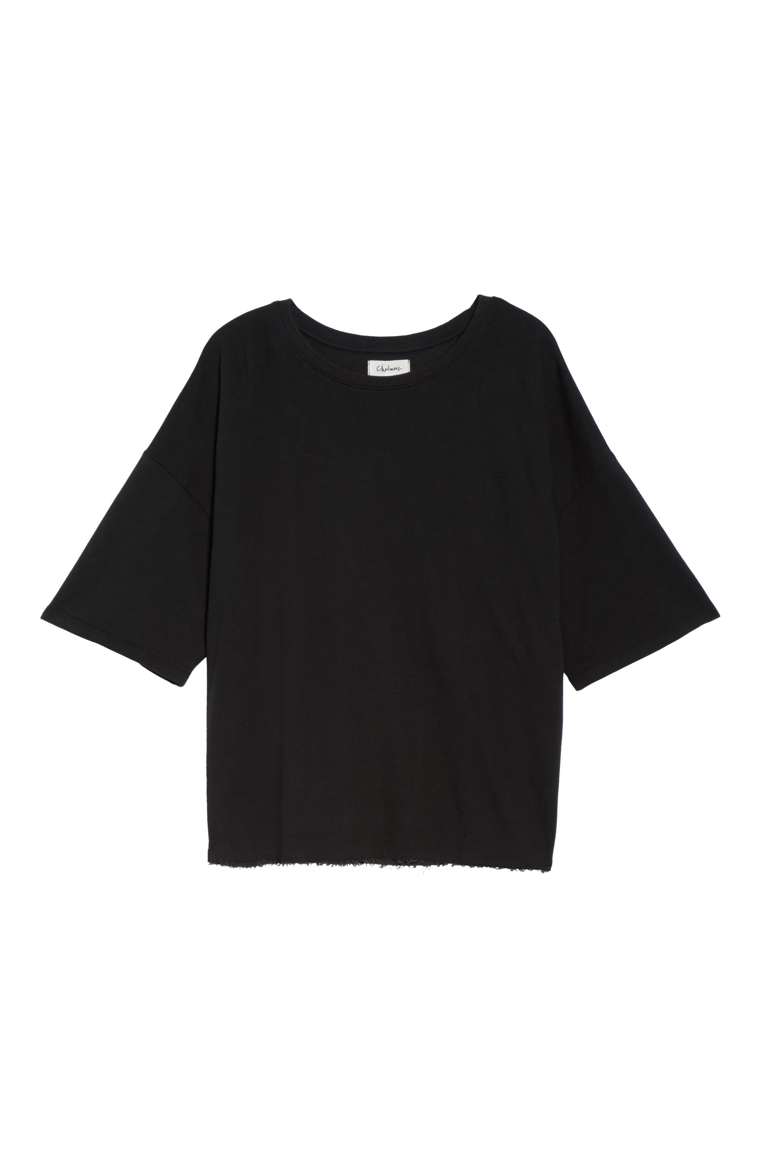 Soph Lounge Sweater,                             Alternate thumbnail 5, color,                             Plain Black Marle