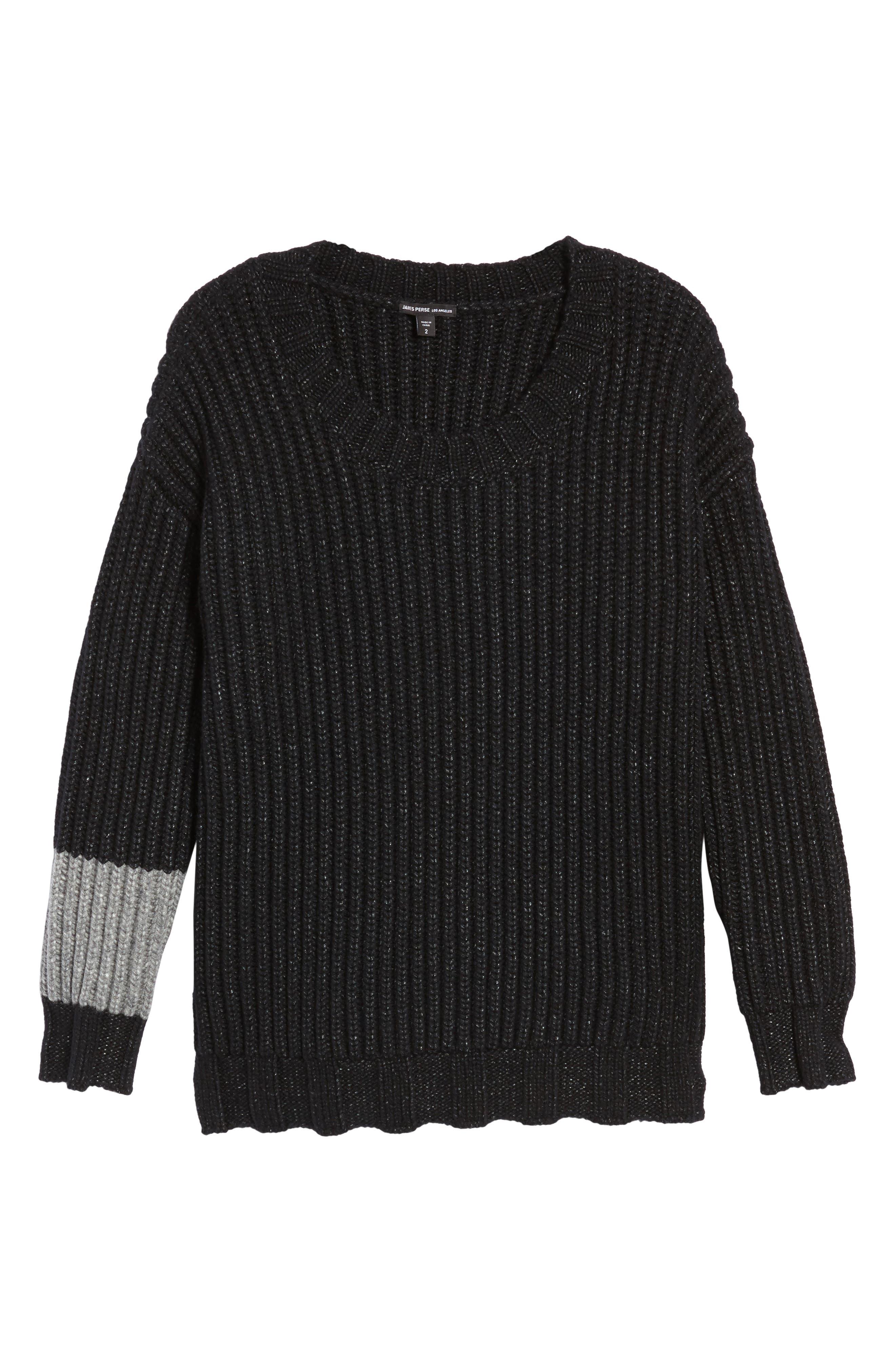 Alternate Image 6  - James Perse Chunky Armband Sweater